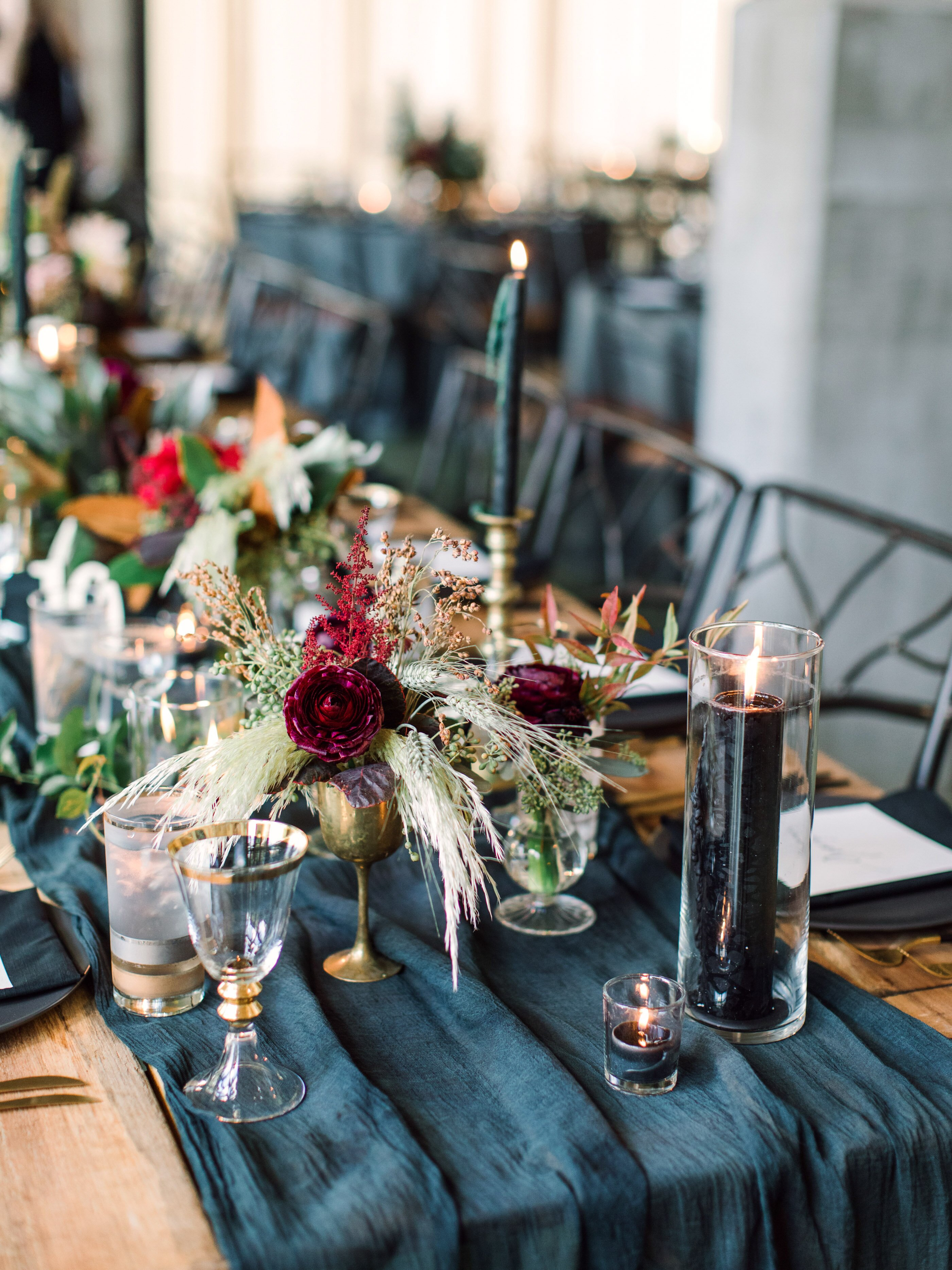 25 Jewel Toned Wedding Centerpieces Sure To Wow Your Guests