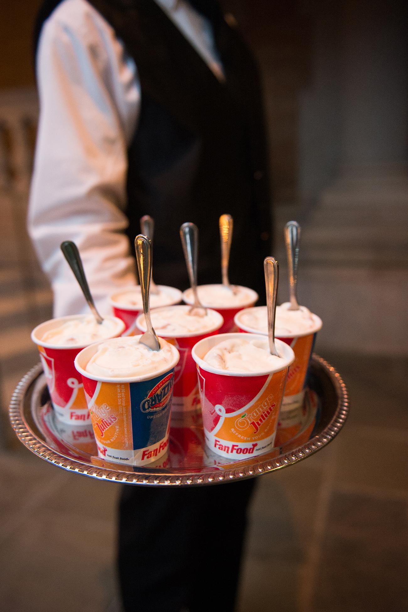jessica brian wedding ice cream