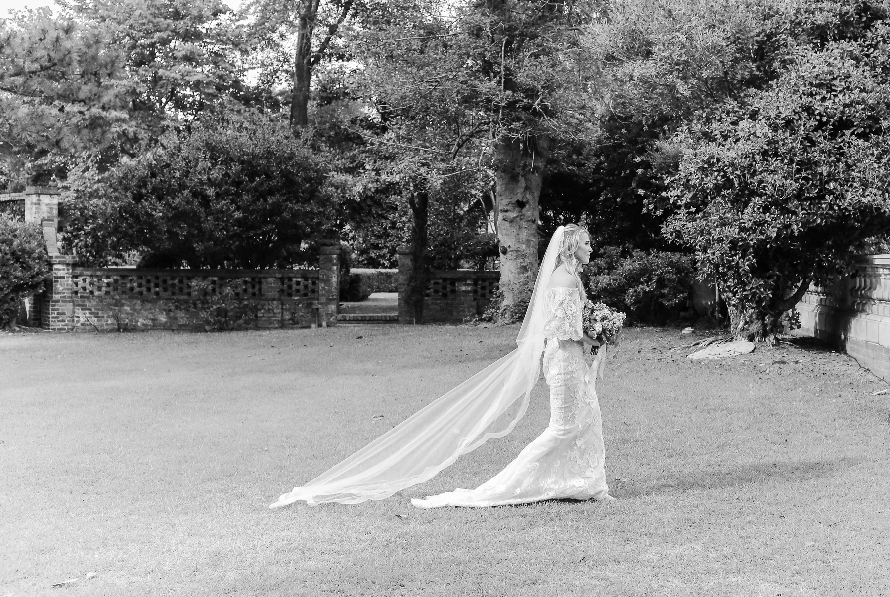 julia mitchell wedding processional bride