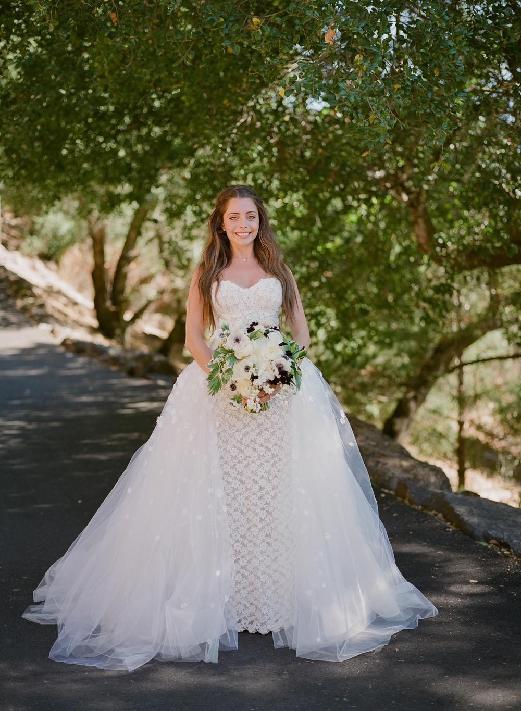 alessa andrew wedding bride