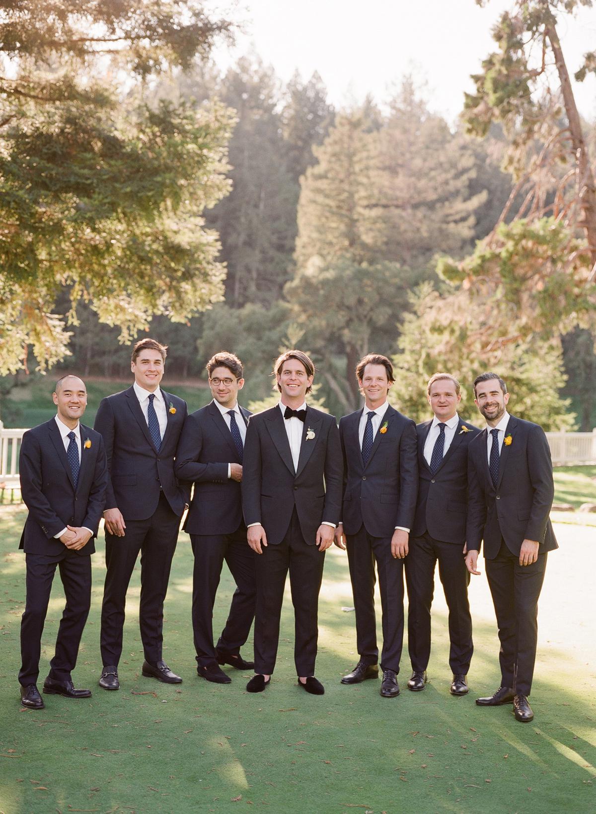 alessa andrew wedding groomsmen