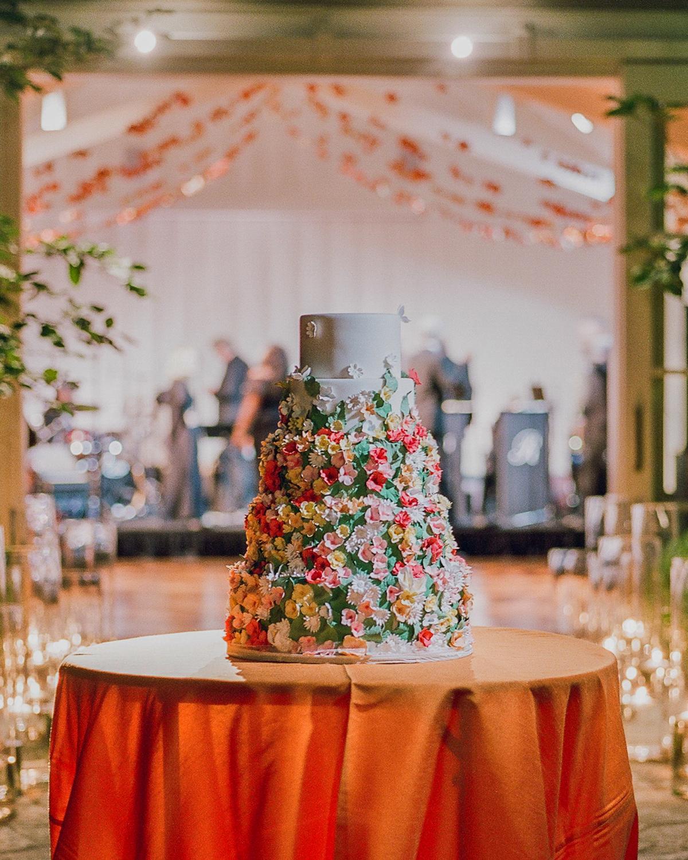 alessa andrew wedding cake