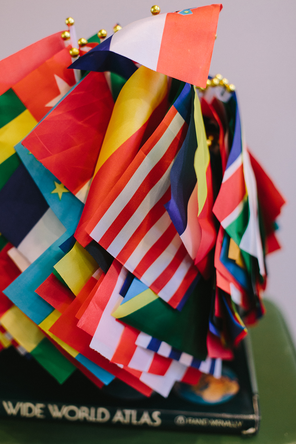 mini country flags