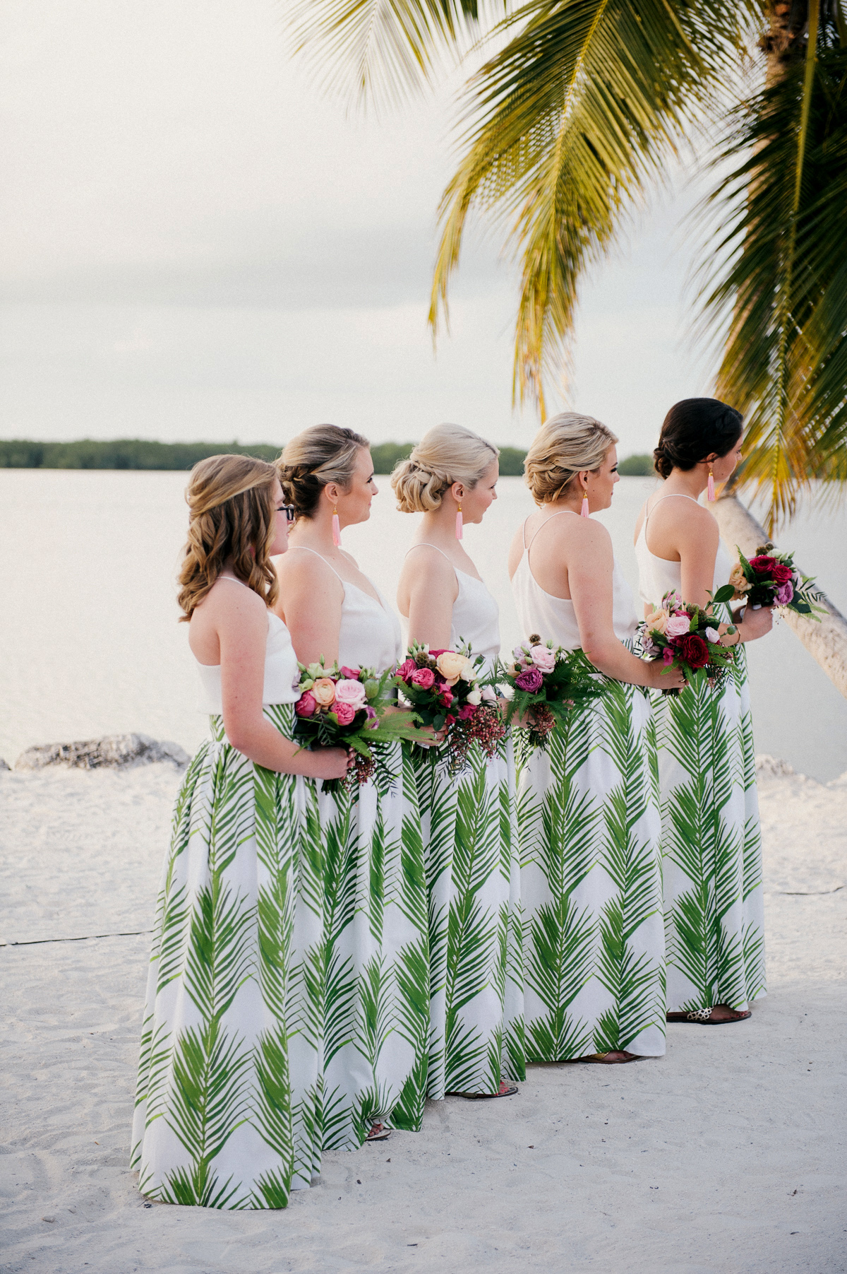 two piece bridesmaids still55 palm