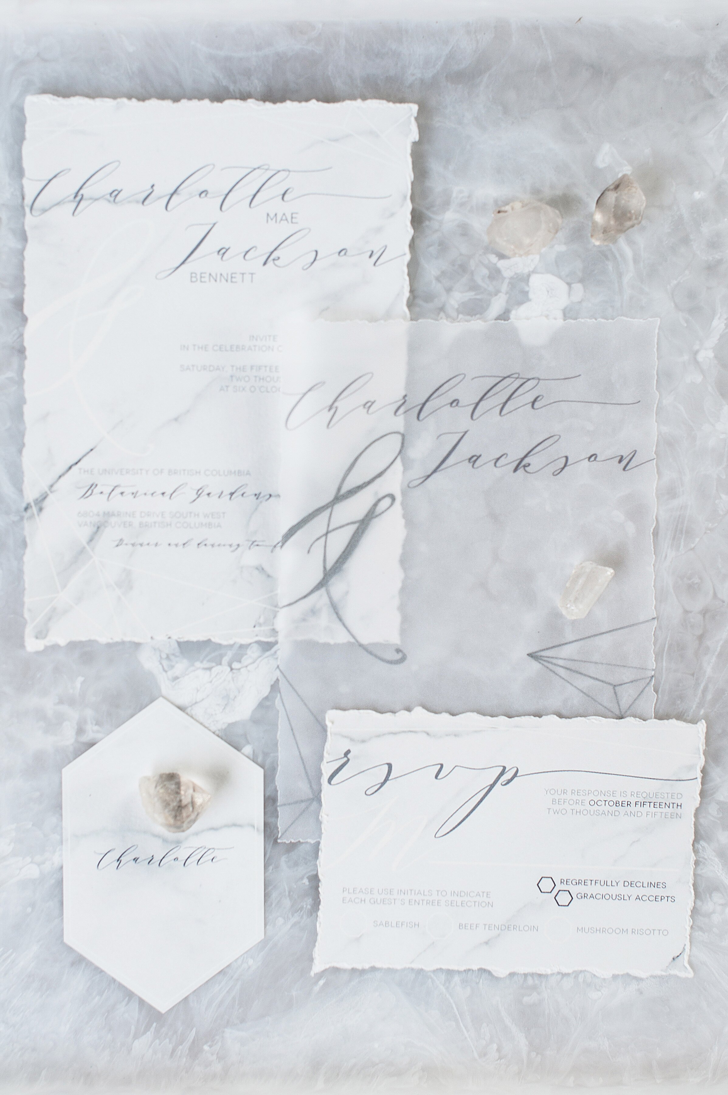 Contemporary Couples Will Love These Wedding Invitations Featuring