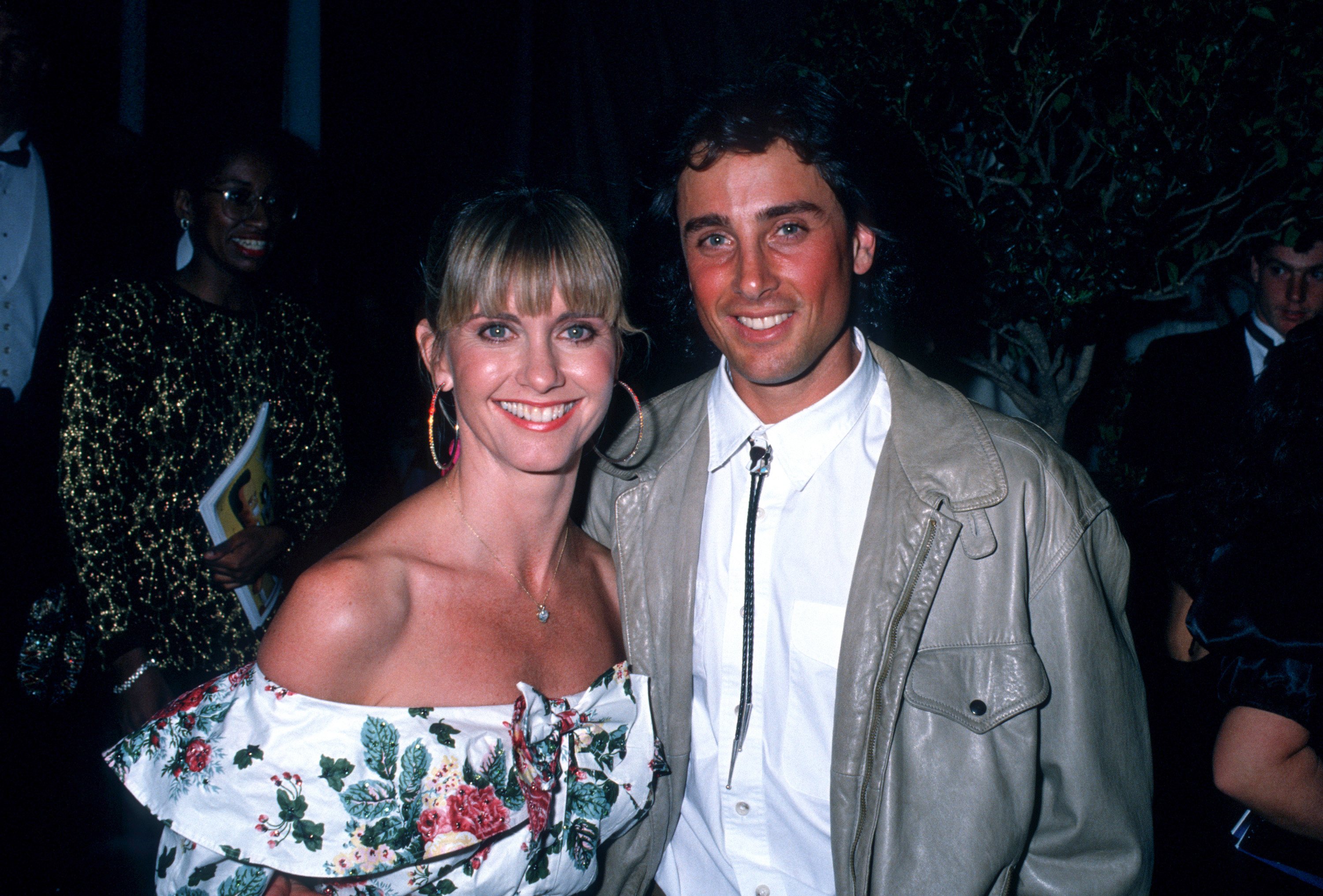 celebrity weddings year you were born olivia newton john matt lattanzi