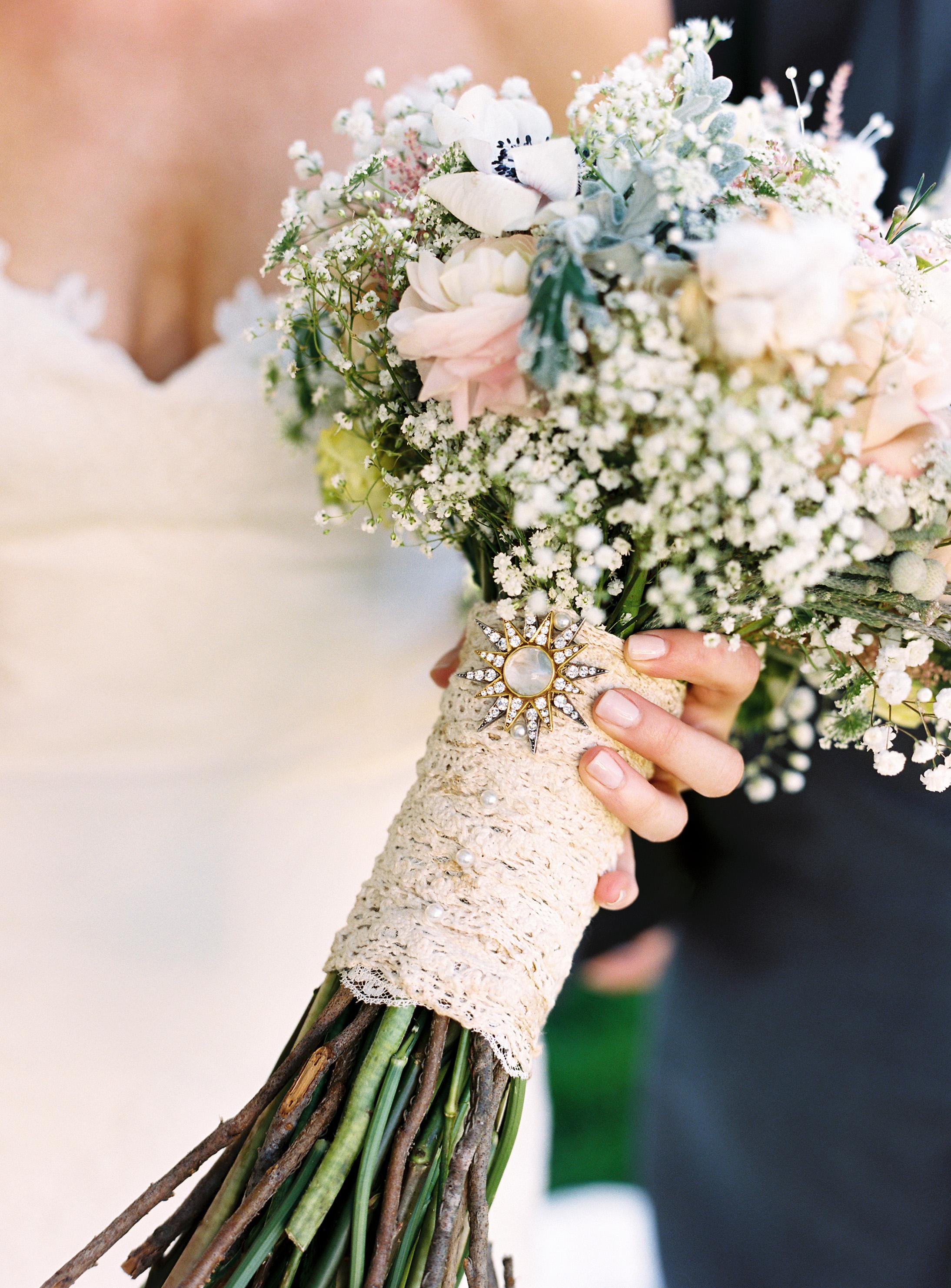 20 Wedding Bouquet Wraps We Love Martha Stewart Weddings