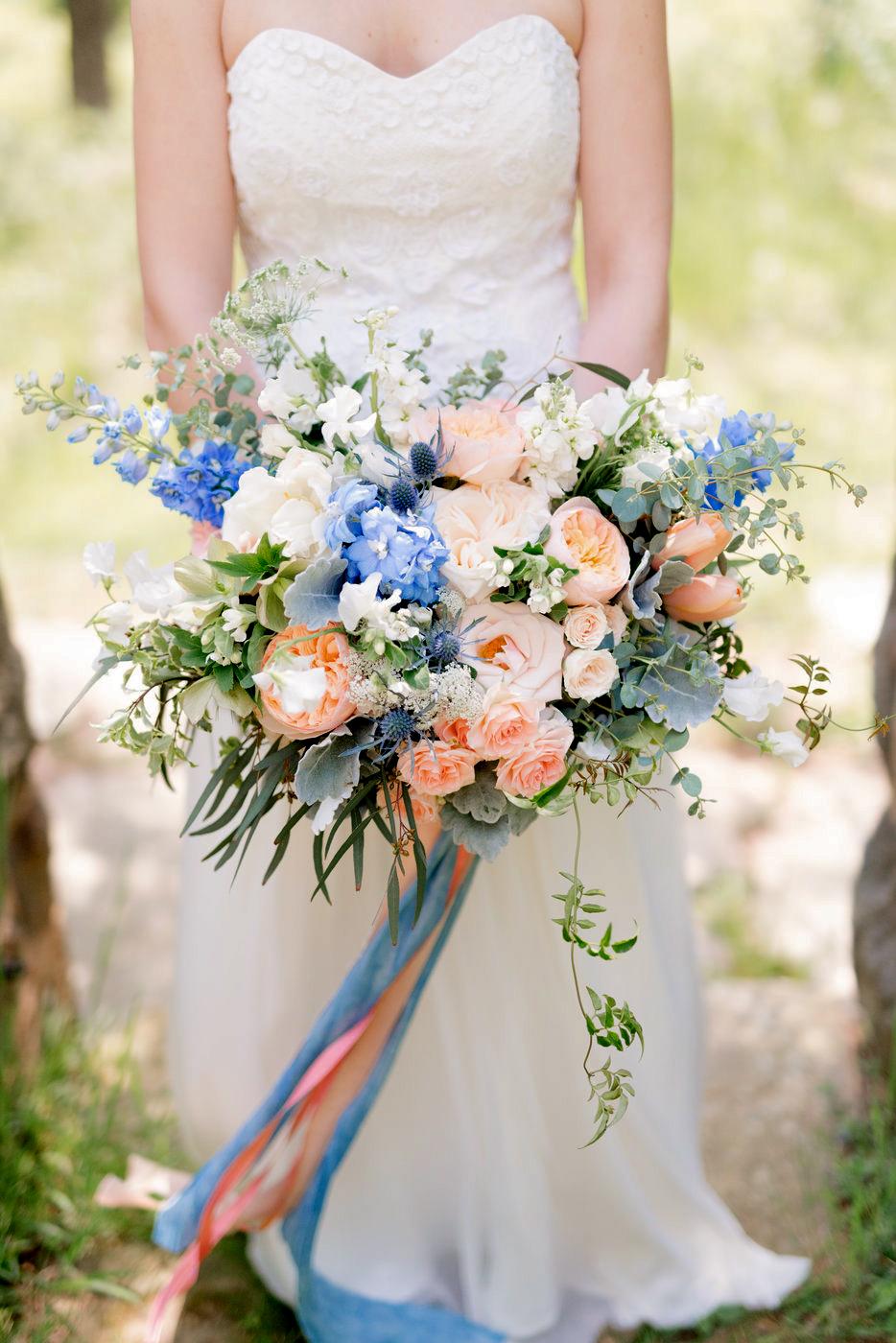 blue bouquet anna kardos petalsbytheshore