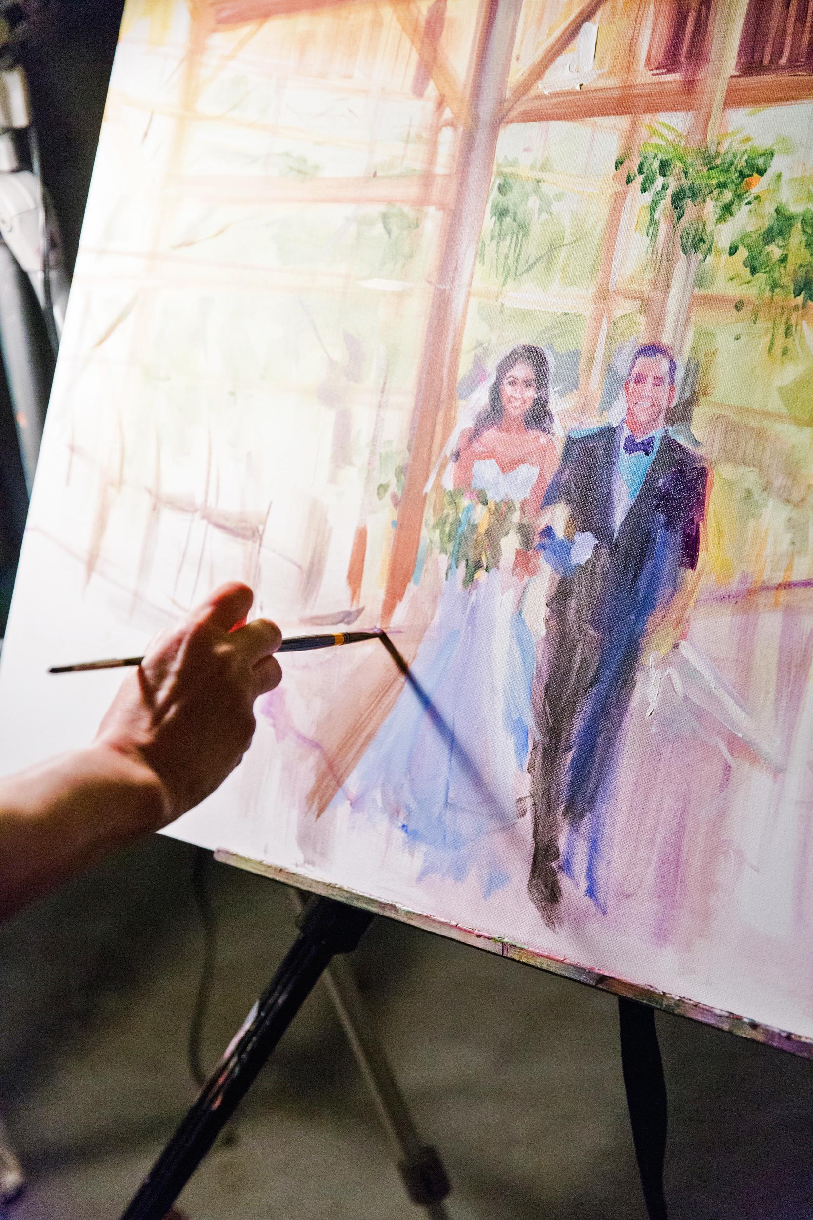 suzanne joseph wedding painting corbin gurkin