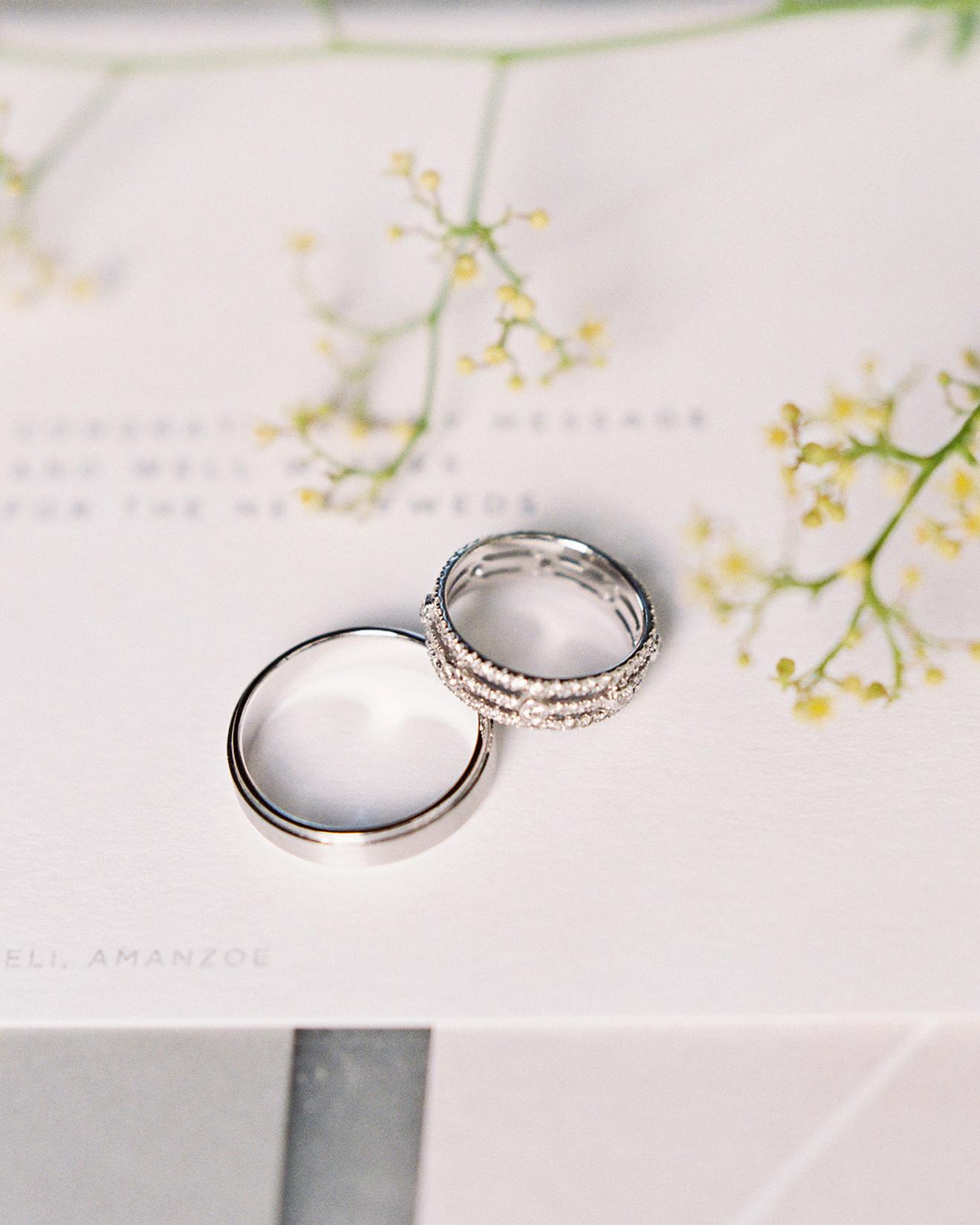 sze amanzoe wedding rings greece elegant