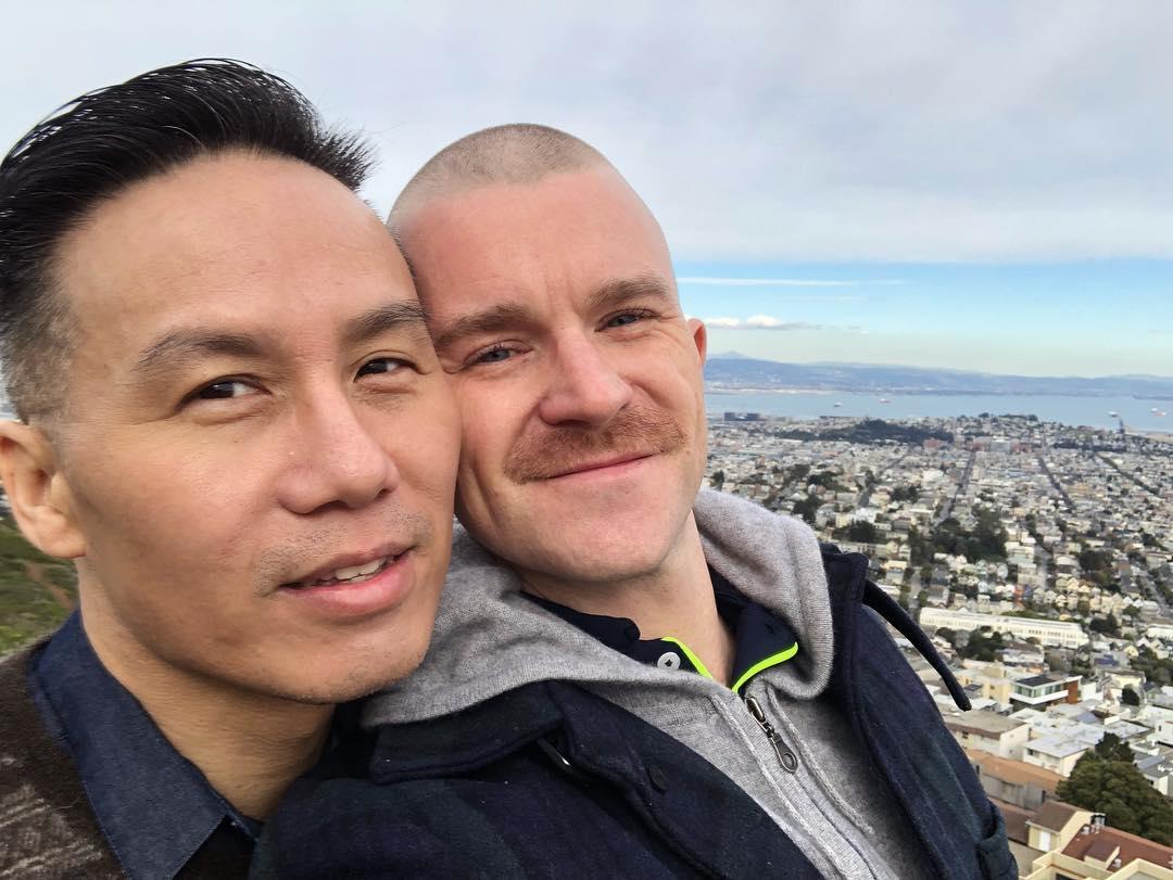 bd wong and richert schnorr married