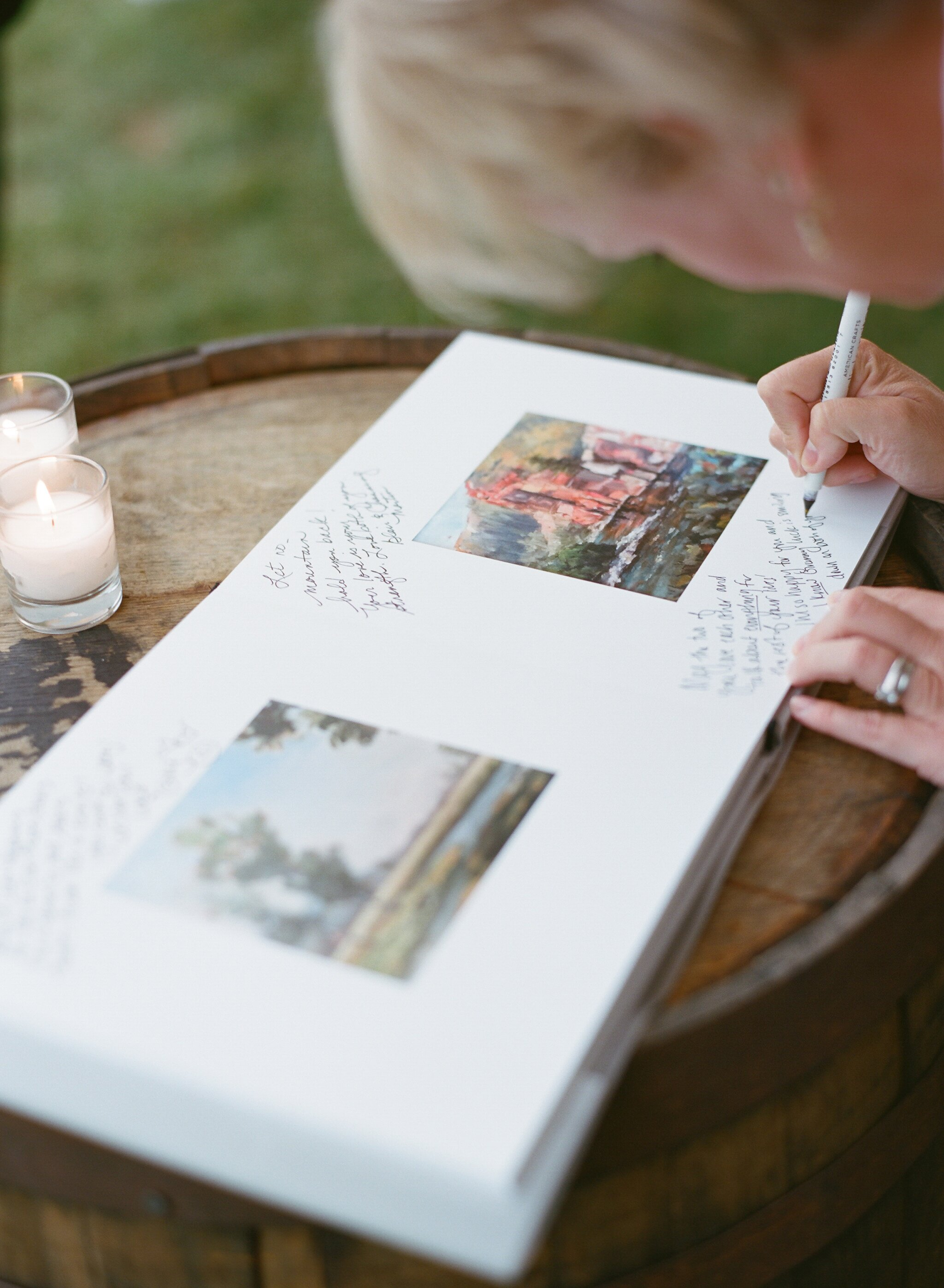 How To Get Wedding Guests Sign Your Guest Book Martha