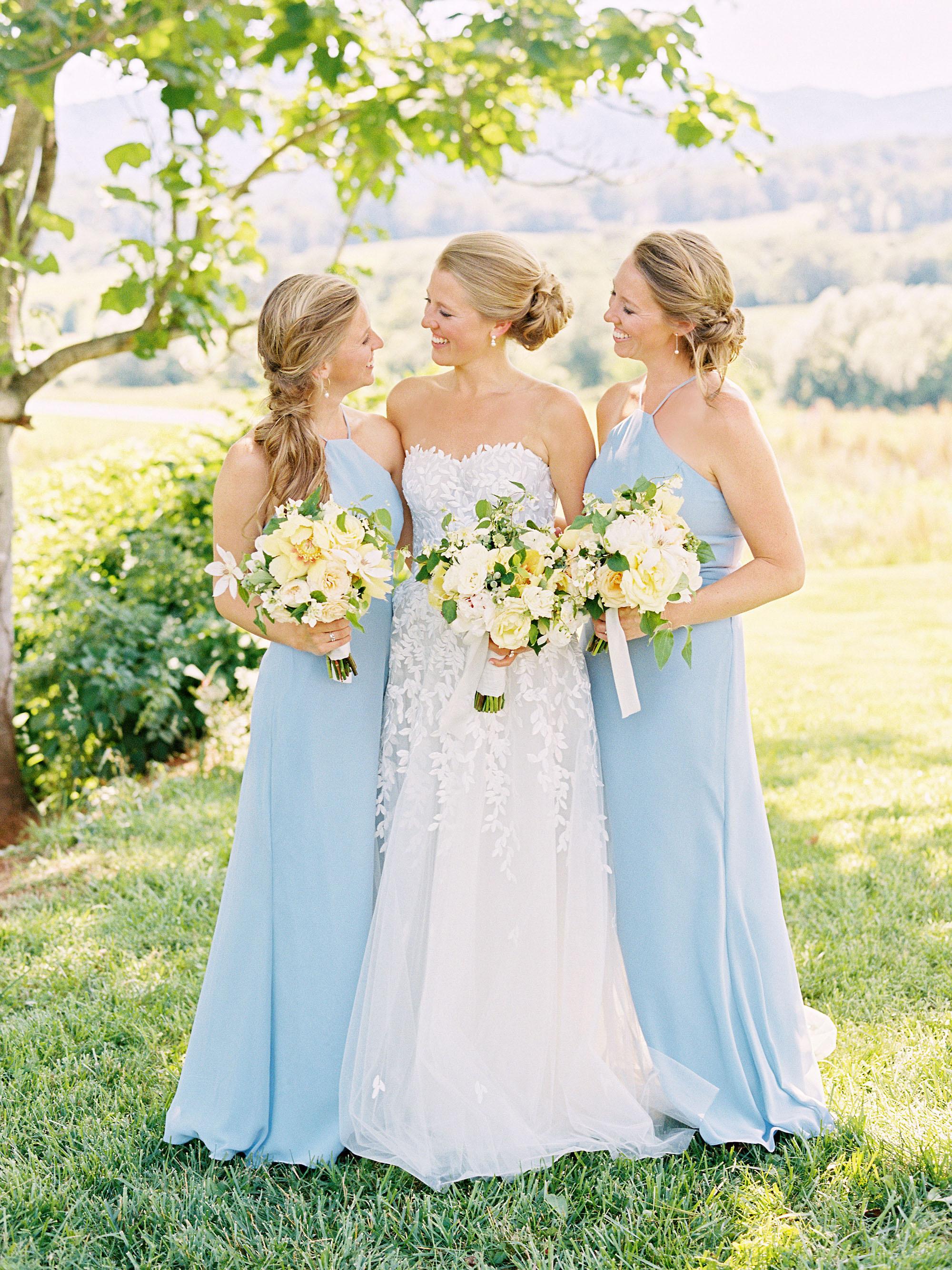 hannah chris wedding north garden va sisters of bride