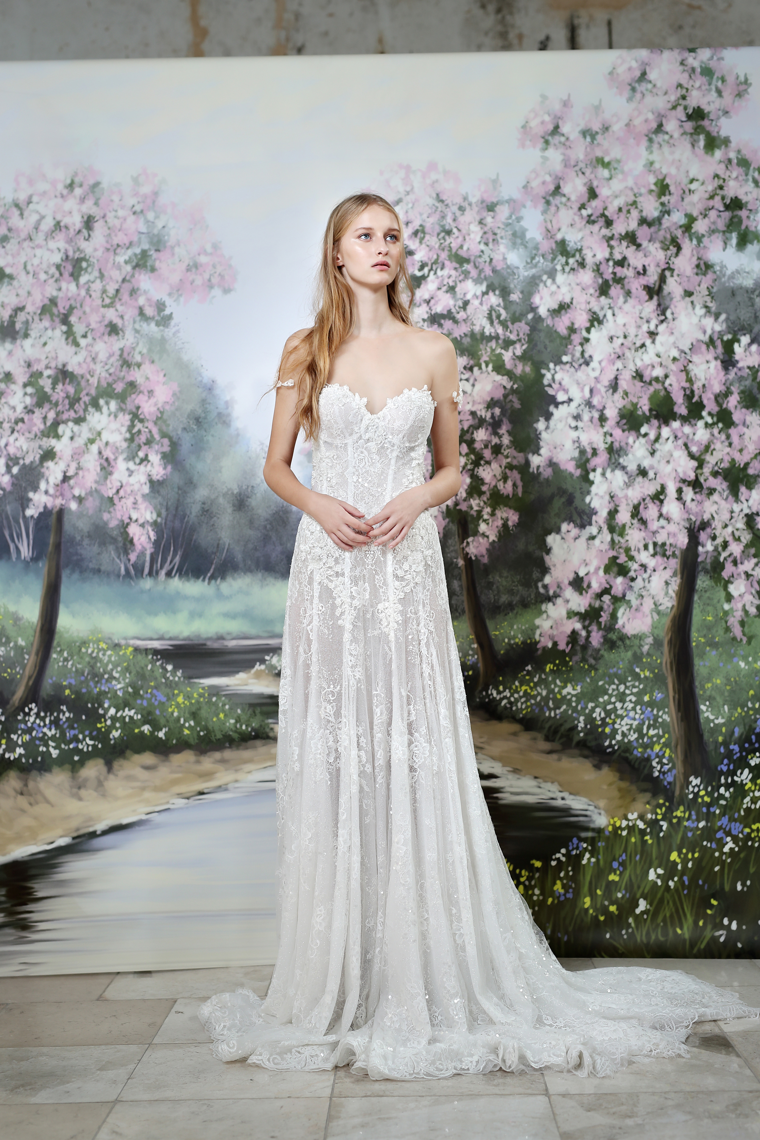 Gala by Galia Lahav strapless wedding dress fall 2019