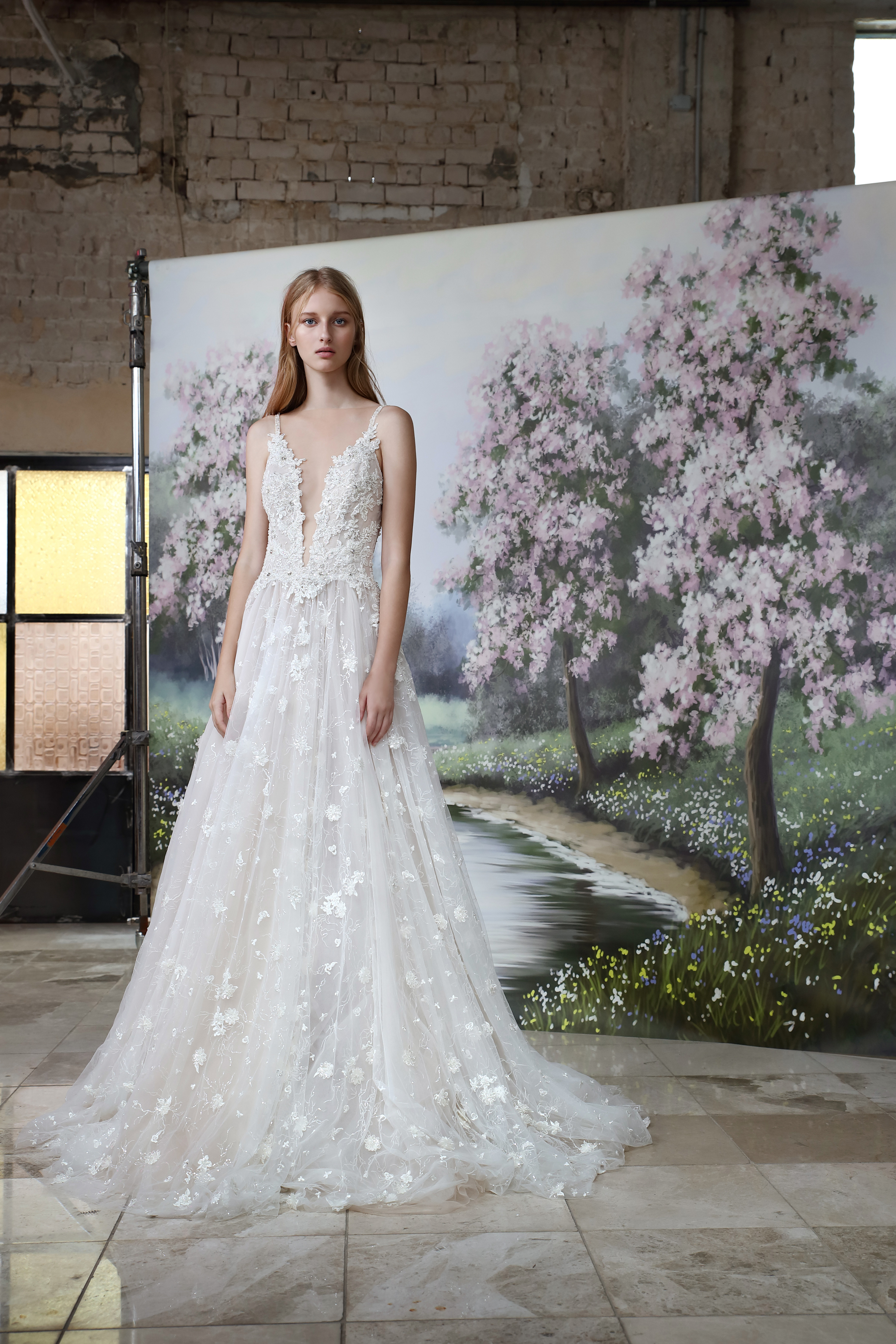 Gala by Galia Lahav A-line wedding dress fall 2019