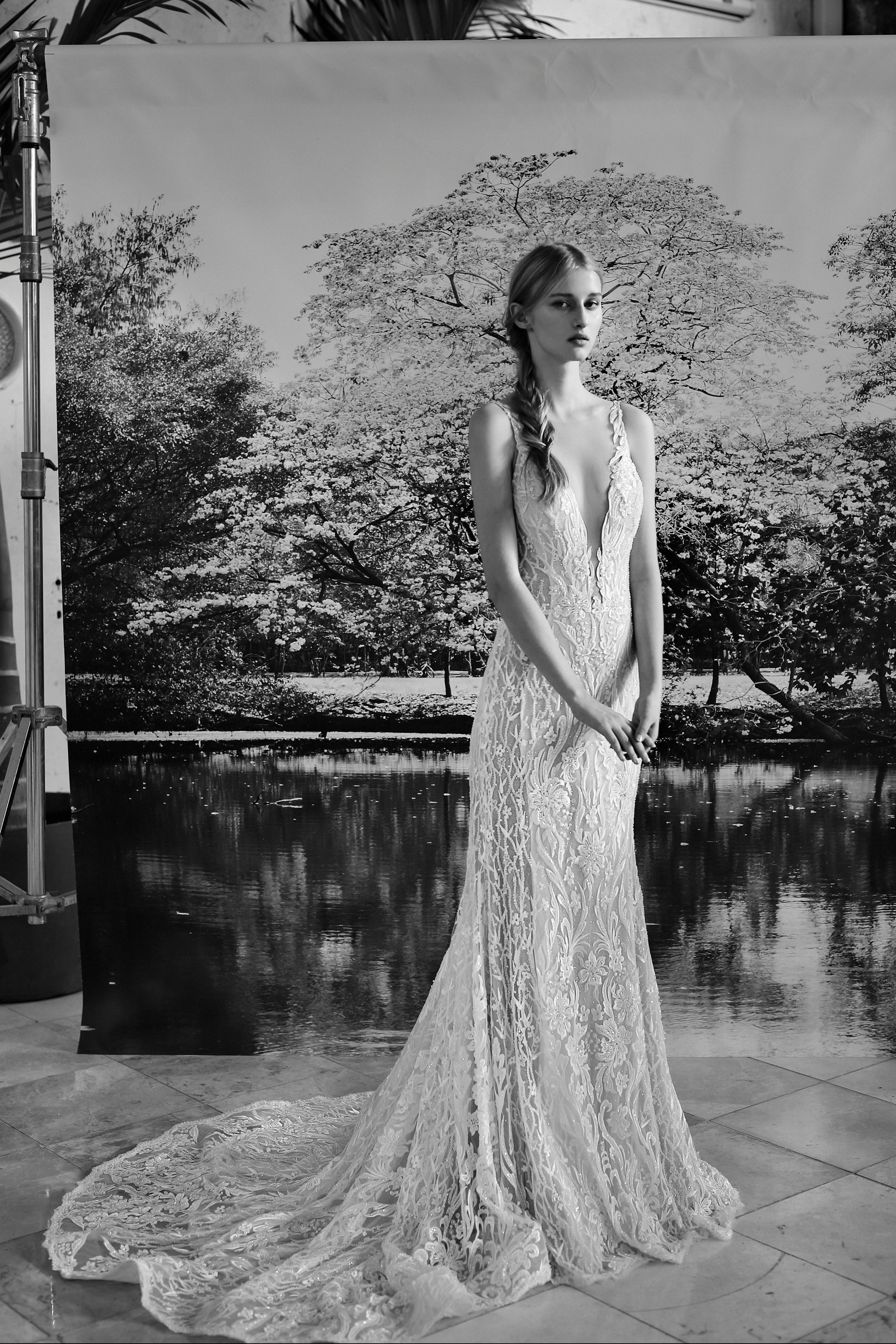 Gala by Galia Lahav v-neck wedding dress fall 2019