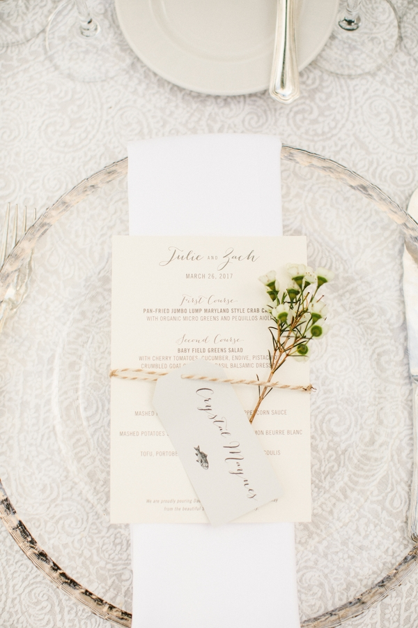julie johnston zach ertz place setting