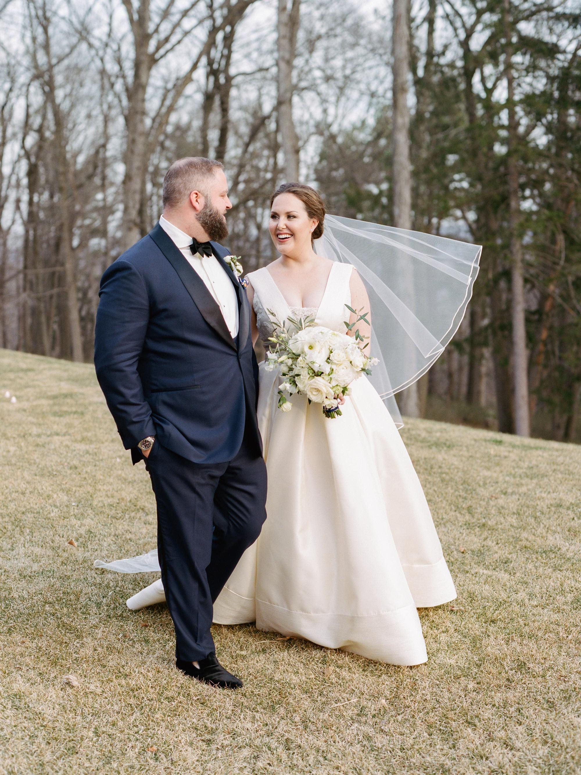 kelly drew new jersey wedding couple walking outdoors