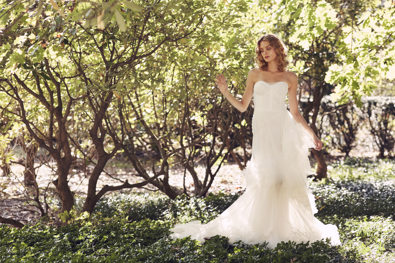 Marchesa sweetheart gown wedding dress fall 2019