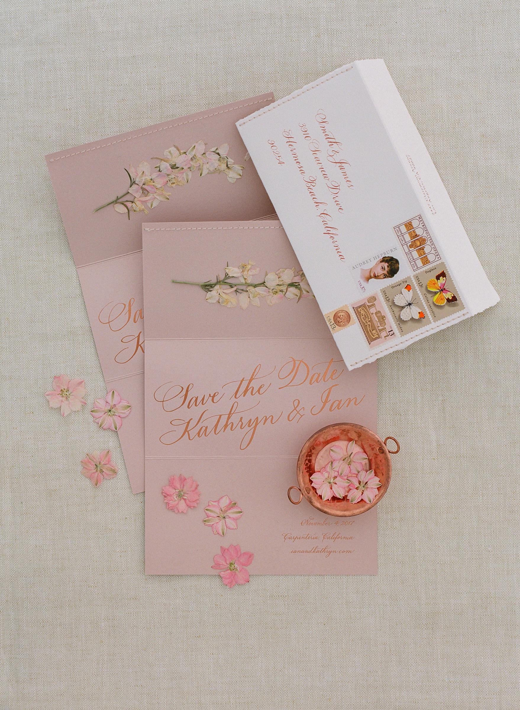 kathryn ian wedding save the date