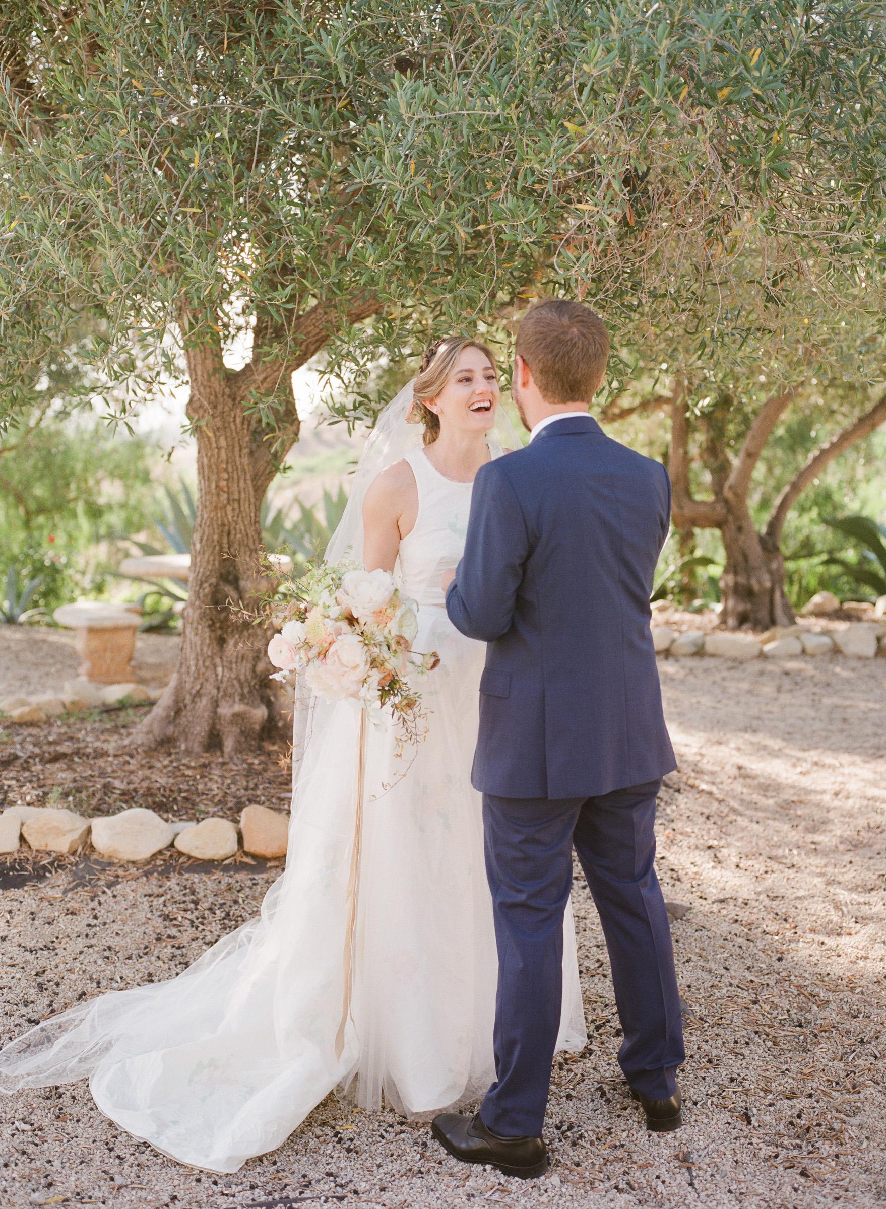 kathryn ian wedding first look