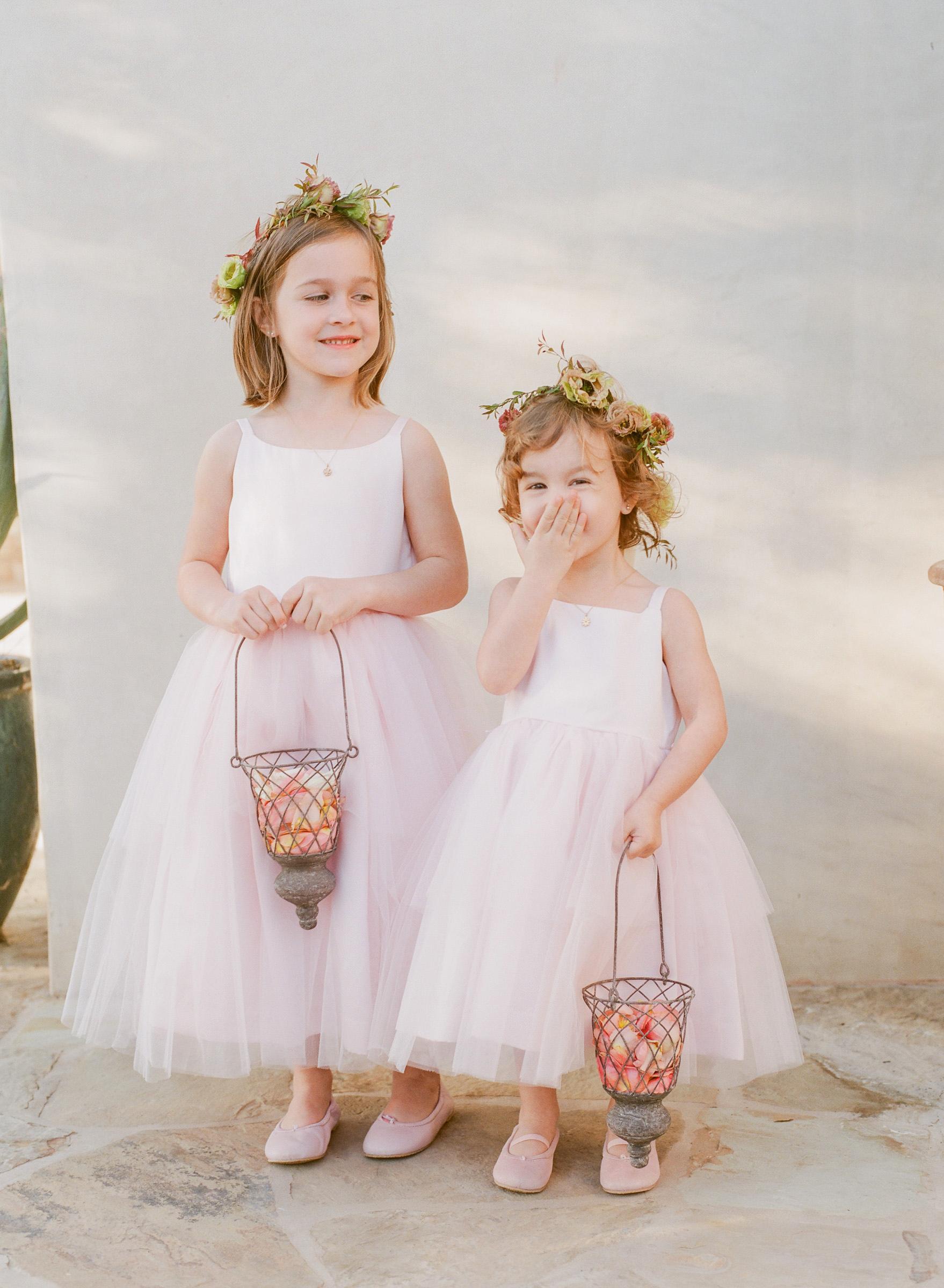 kathryn ian wedding flower girls
