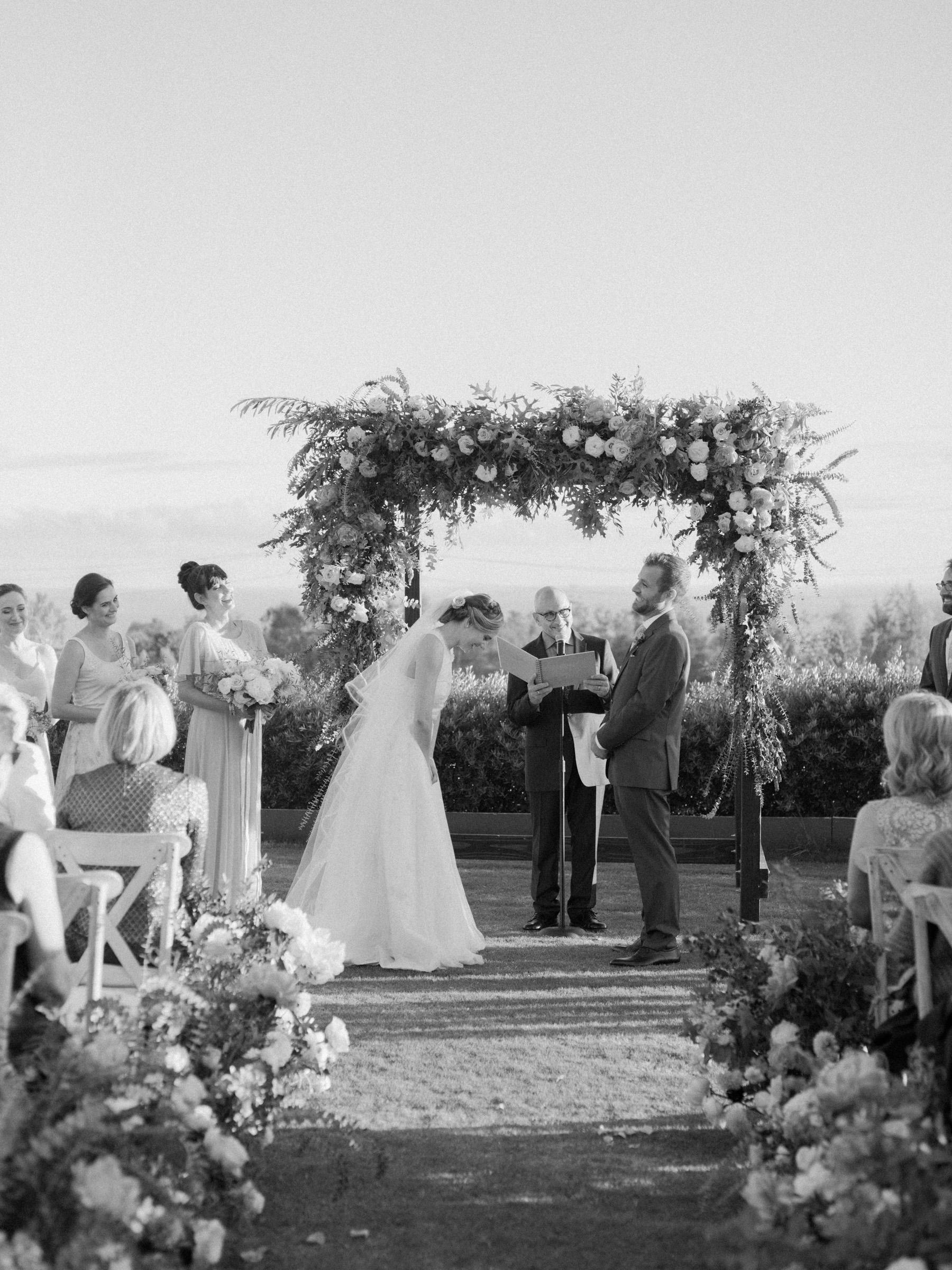 kathryn ian wedding ceremony