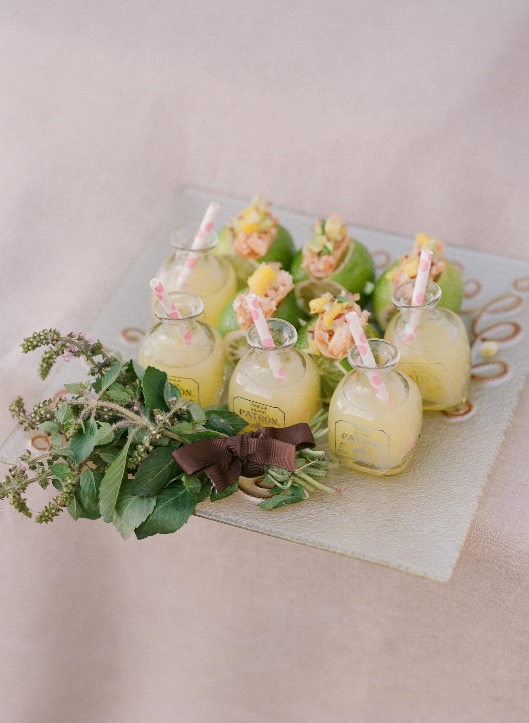 kathryn ian wedding appetizers