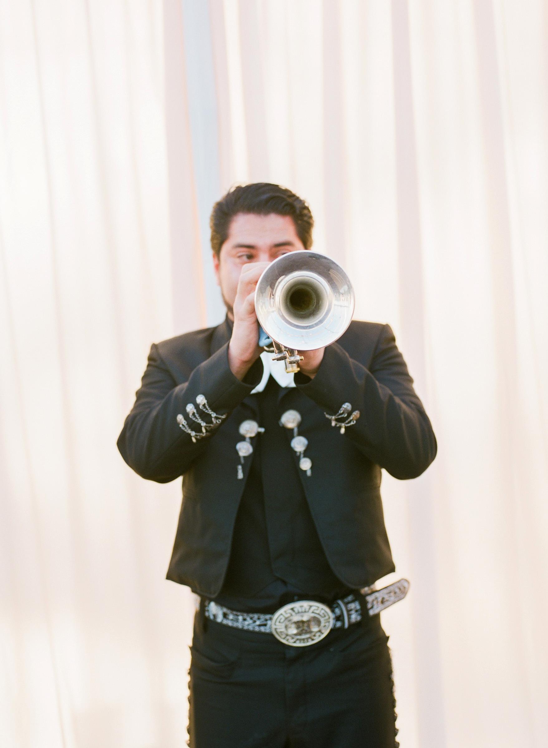 kathryn ian wedding musician trumpet