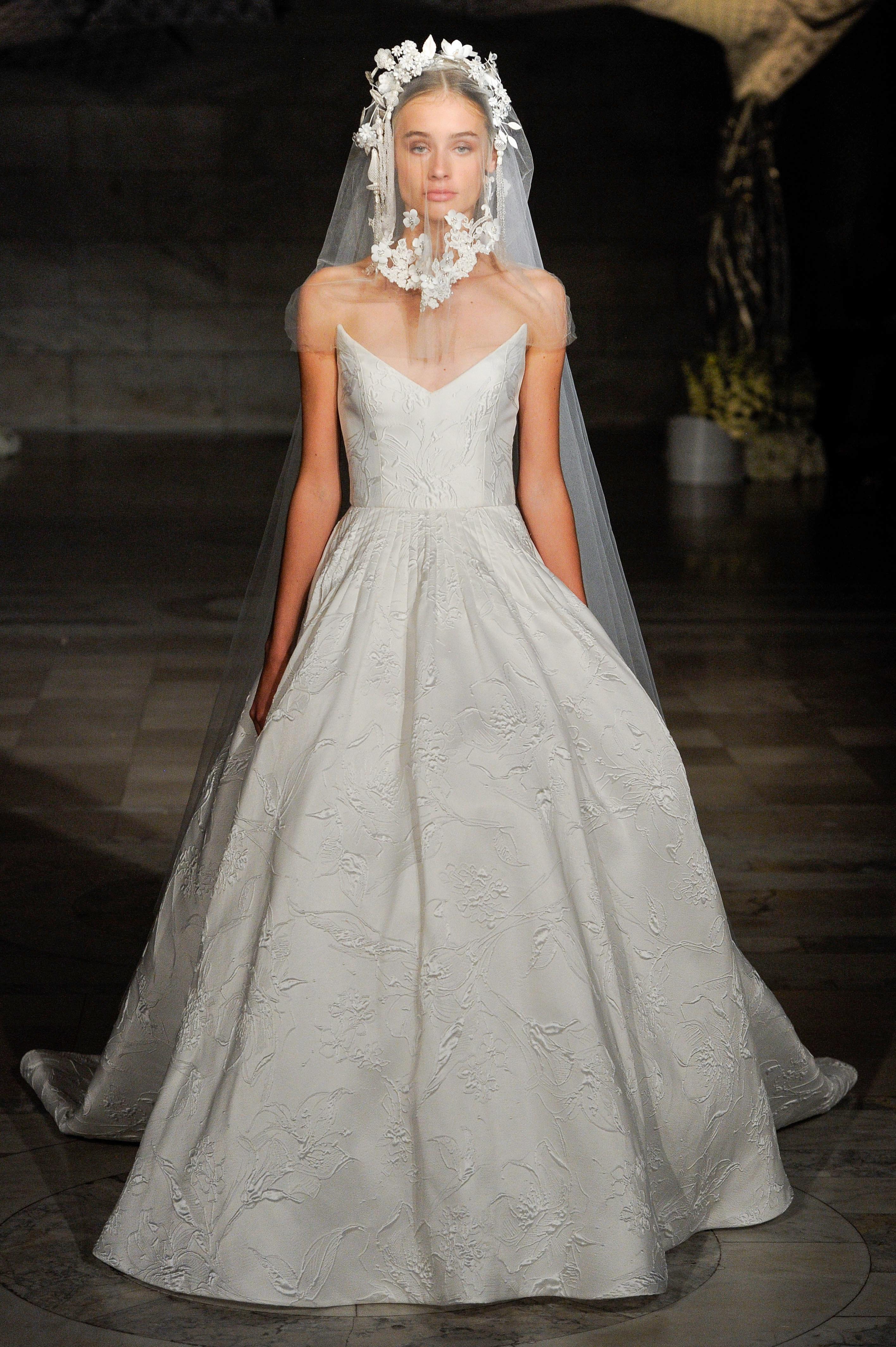 Reem Acra S New Wedding Dresses The Celebration Collection