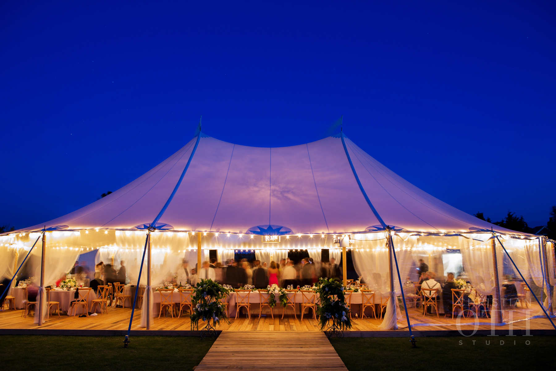 after party decor white outdoor event tent