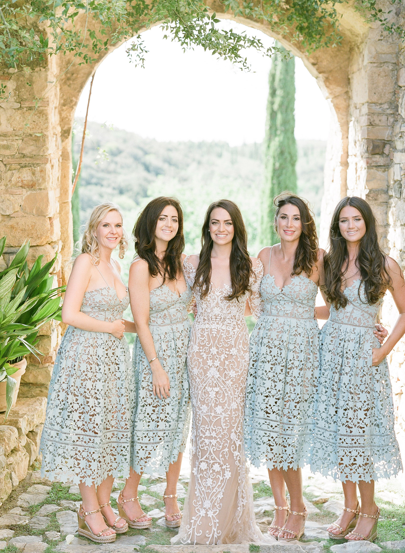 best dressed bridesmaids julie michaelsen