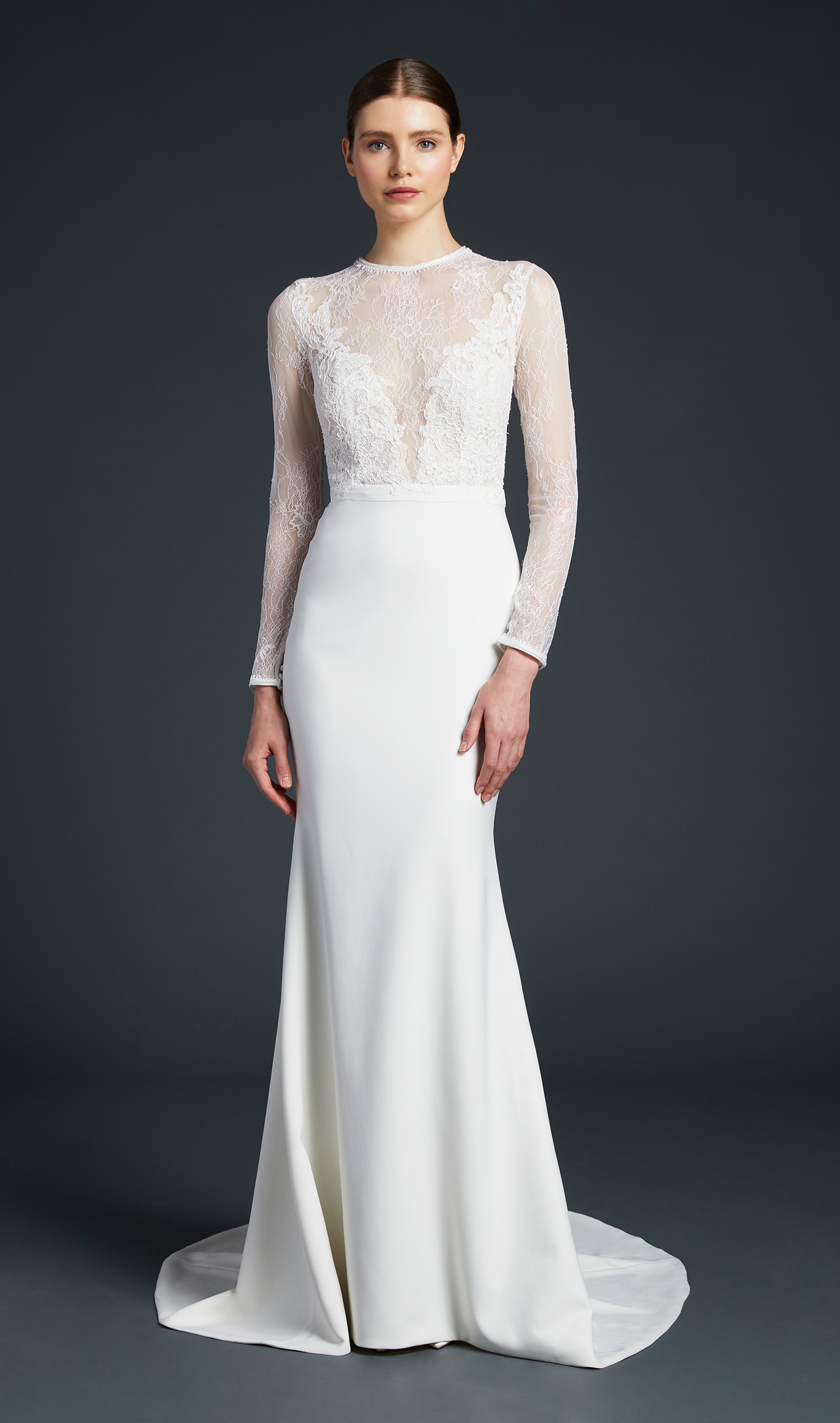 anne barge illusion sweetheart wedding dress fall 2019