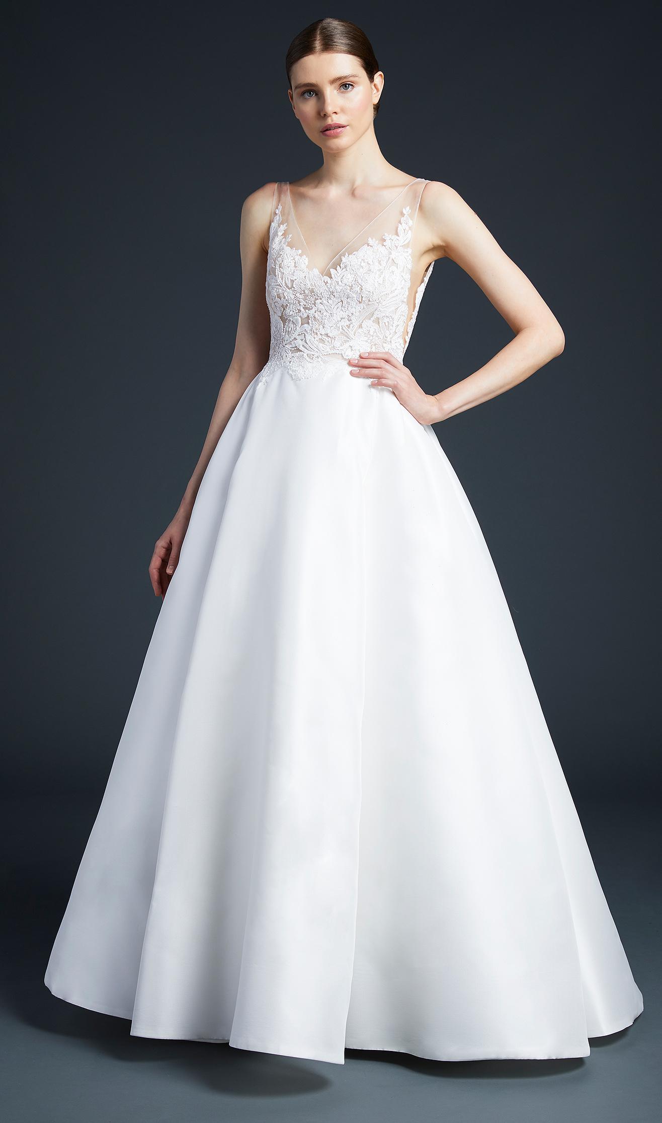 anne barge sweetheart ball gown wedding dress fall 2019