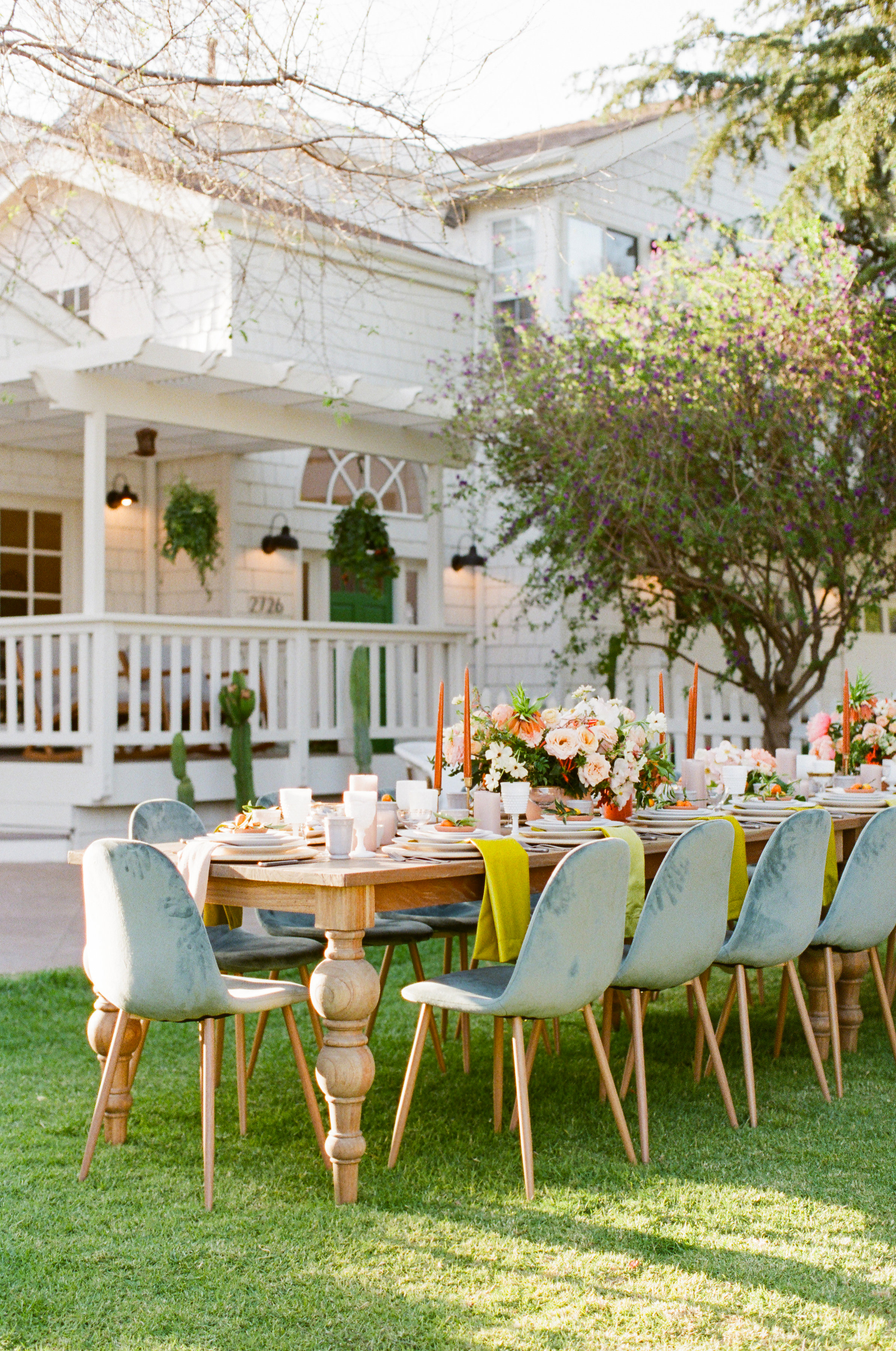 The Outdoor Reception