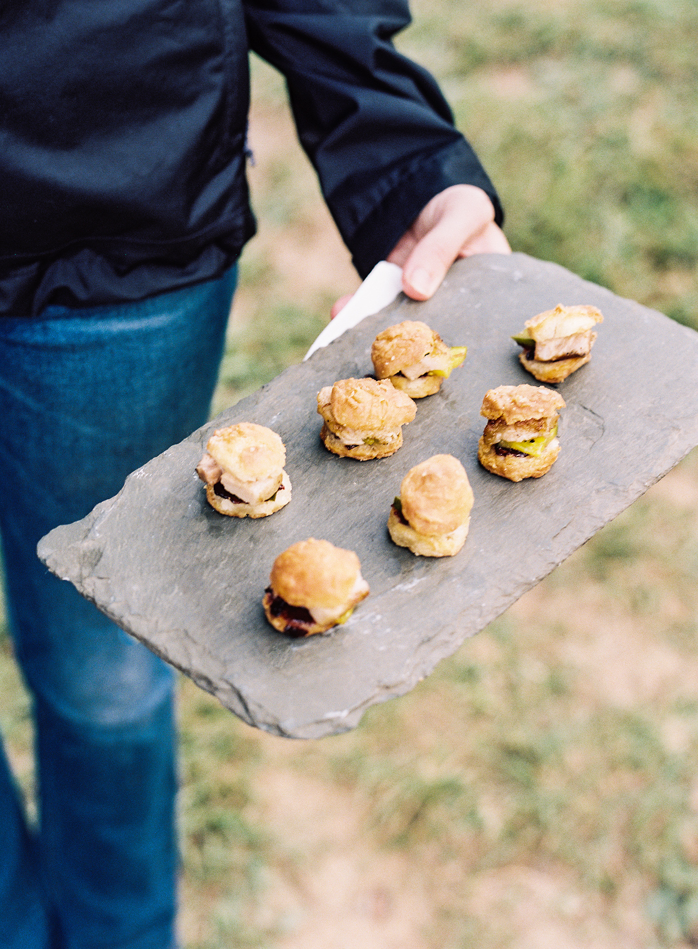 beth aaron rehearsal dinner blackberry farm biscuits