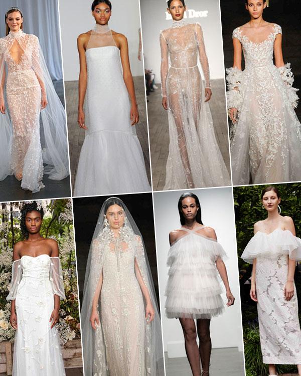 fall 2019 bridal fashion week trends