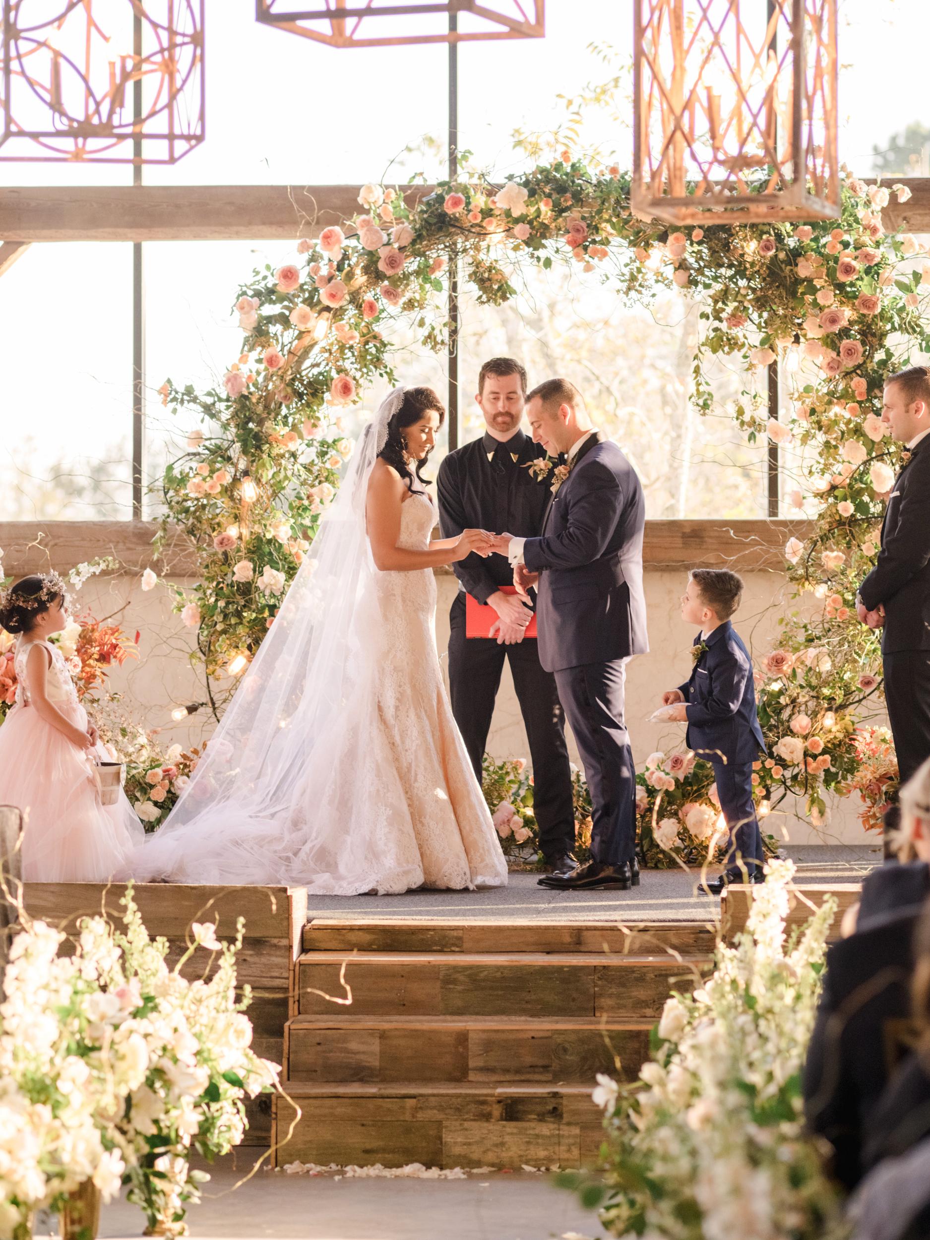 suzanne joseph wedding ceremony corbin gurkin