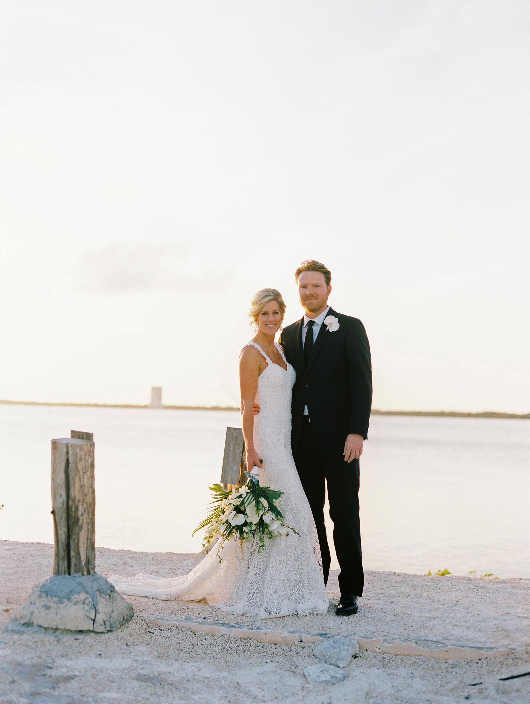 sara danny mexico wedding couple beach