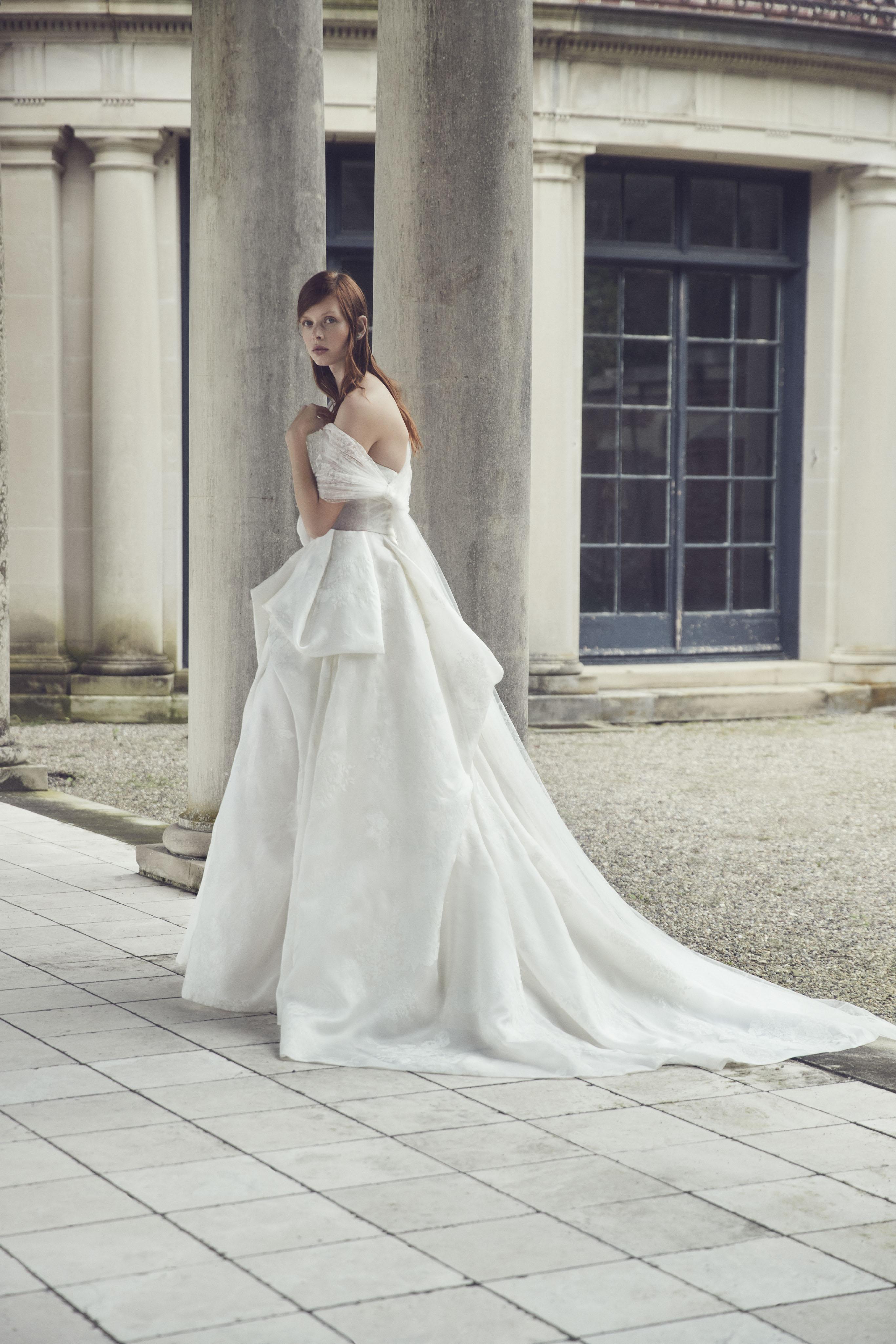 Monique Lhuillier Fall 2019 Wedding Dress Collection Martha
