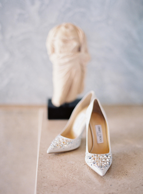 sze amanzoe wedding shoes greece elegant