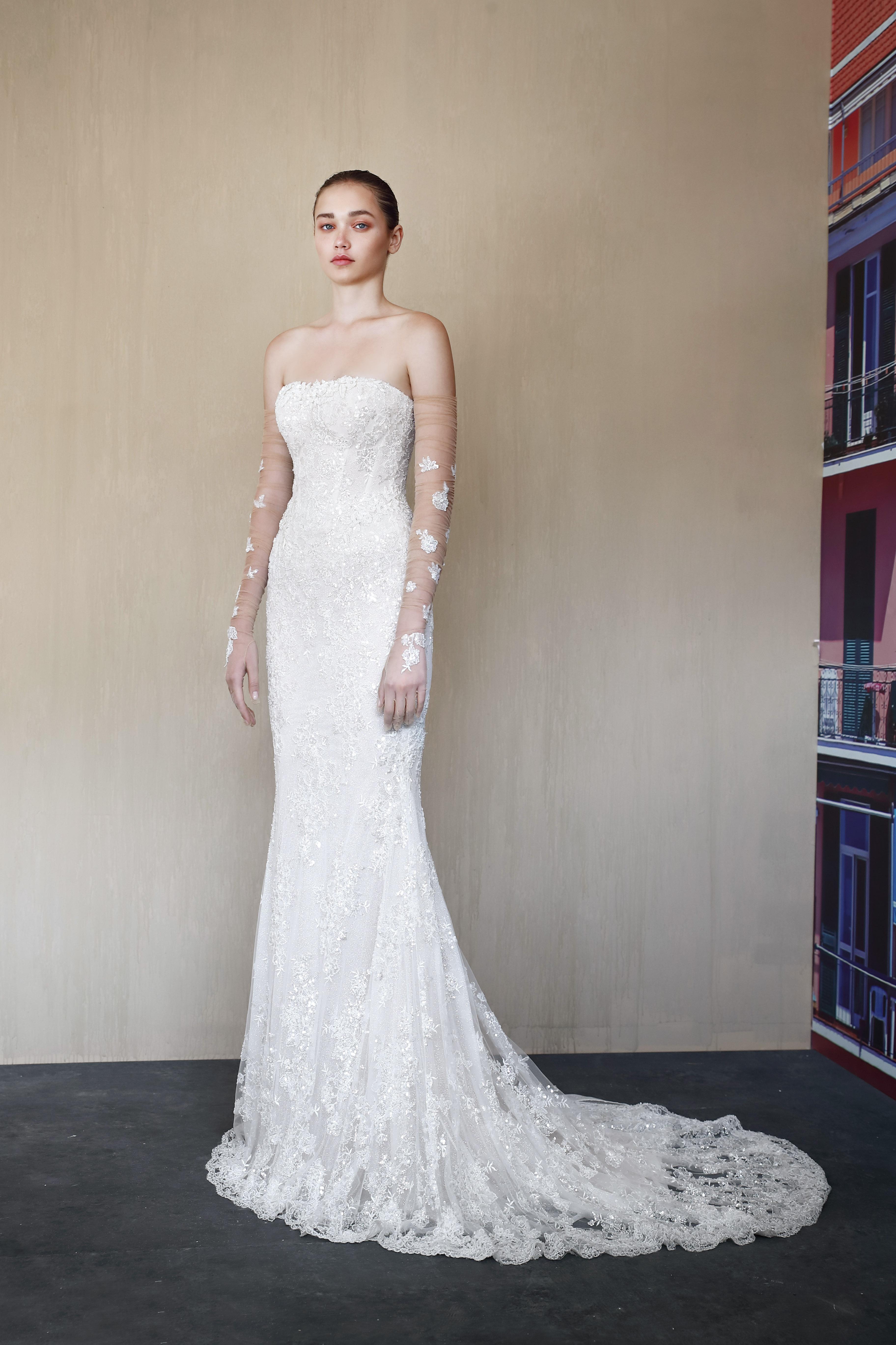 galia lahav illusion long sleeves wedding dress fall 2019