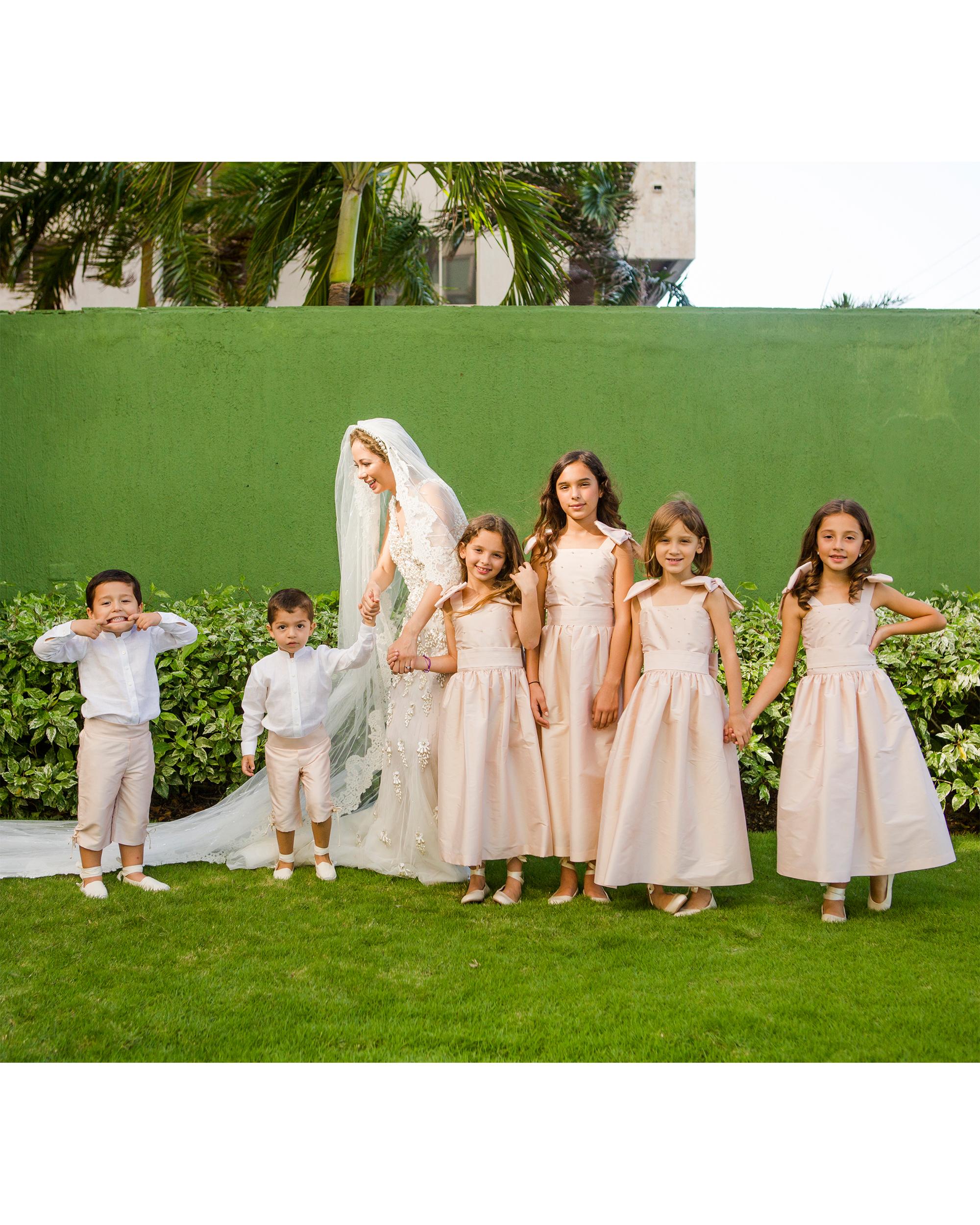 cristina andre wedding kids