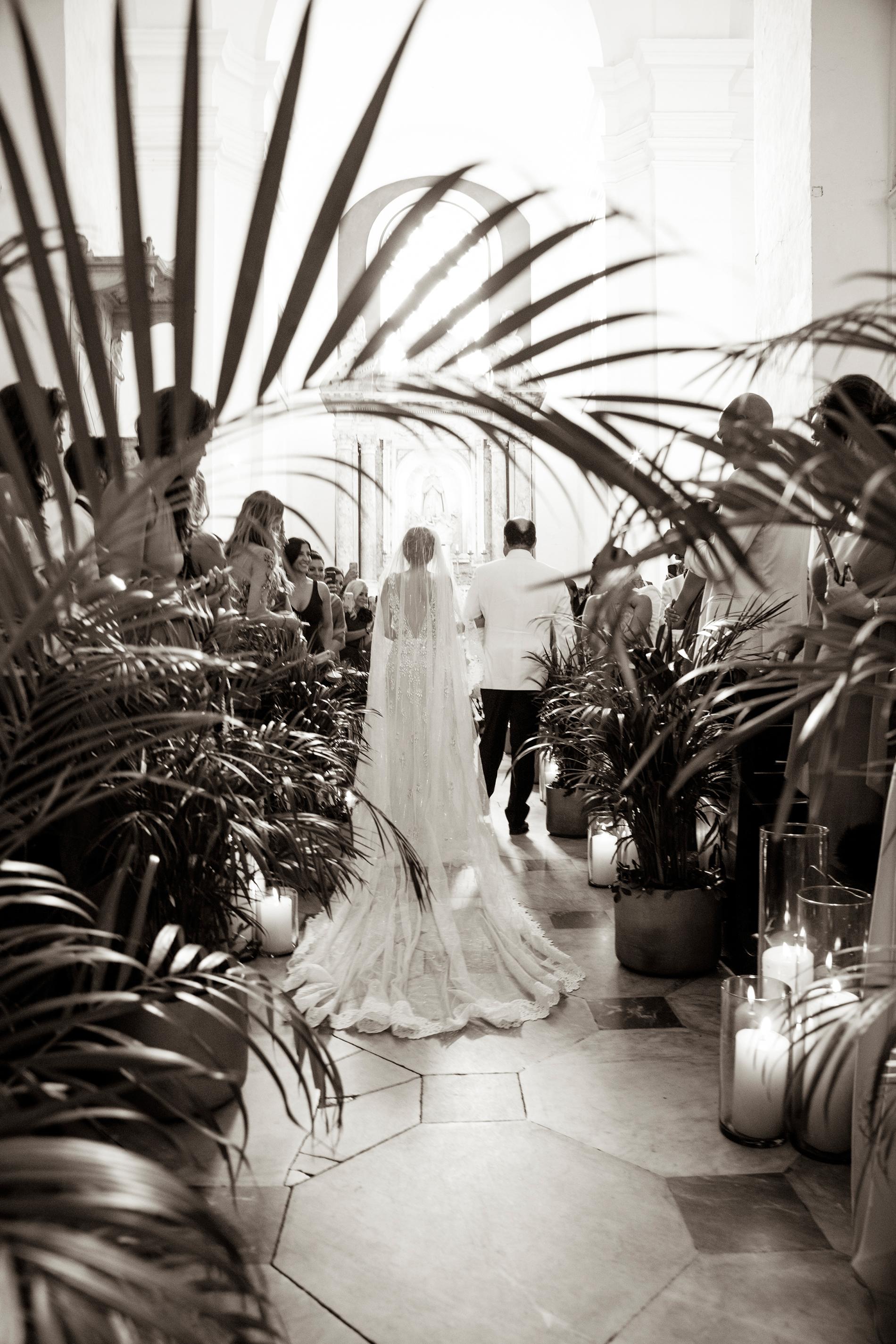 cristina andre wedding ceremony processional