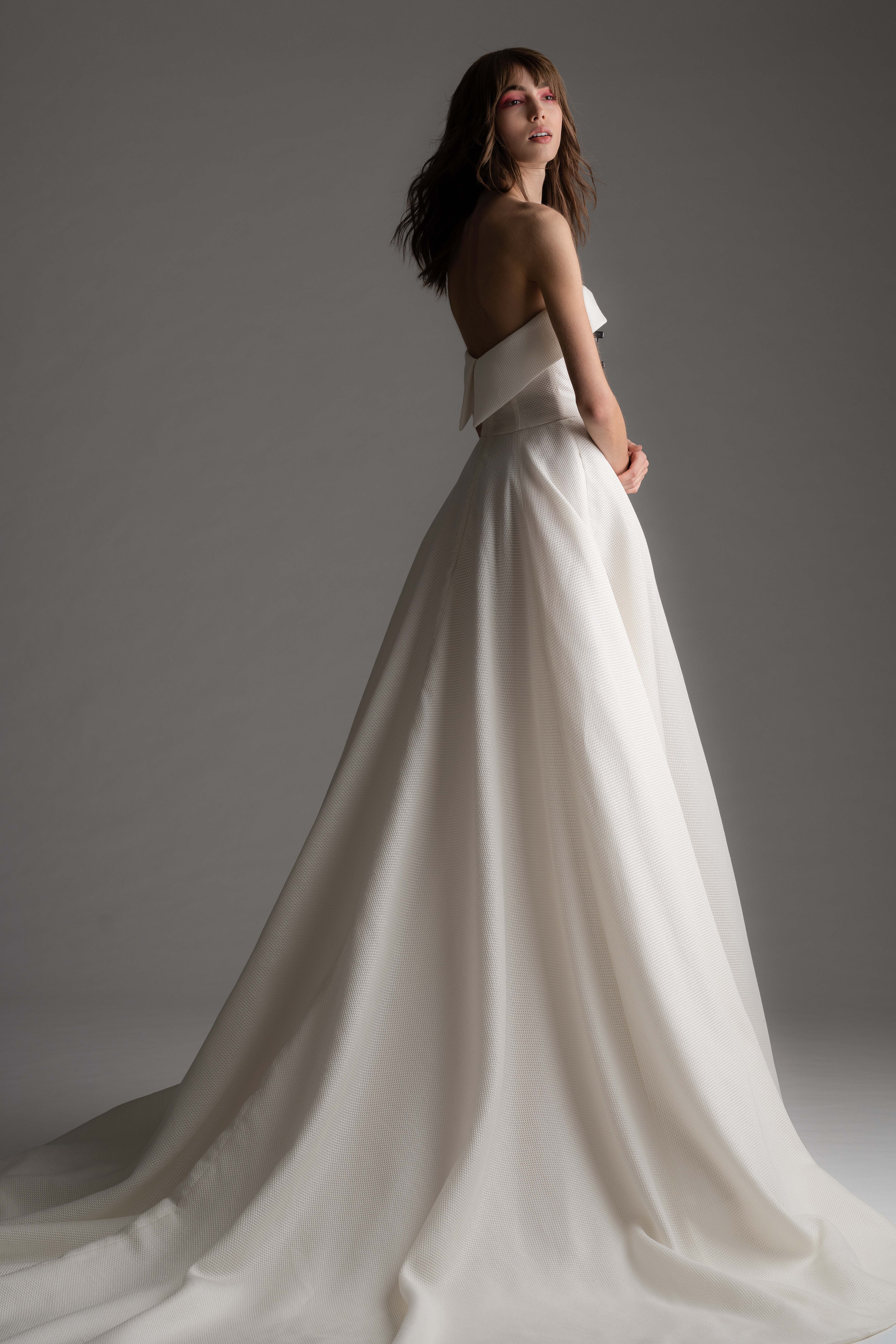 rivini by rita fall 2019 strapless a-line wedding dress