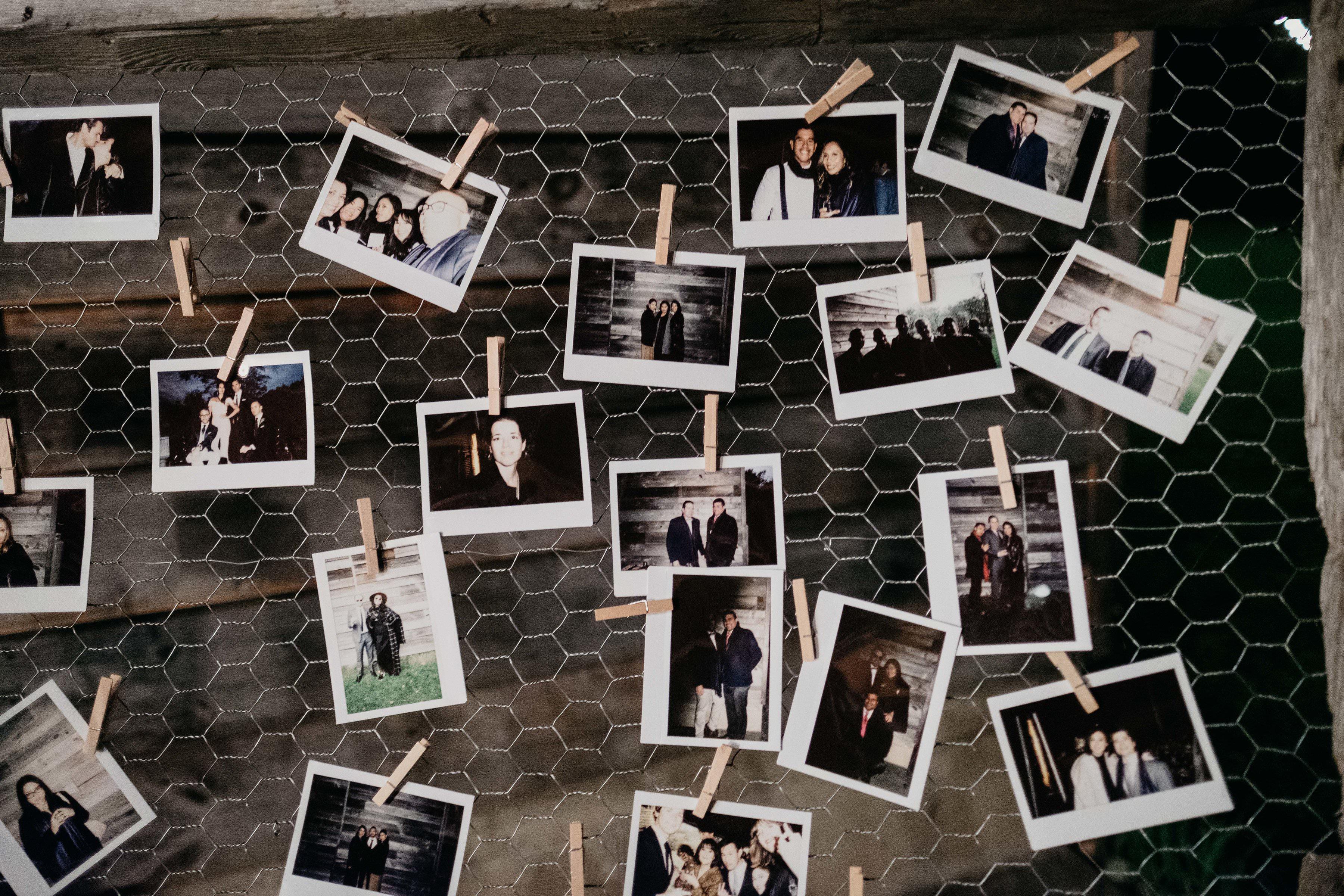 eric eryc wedding polaroids