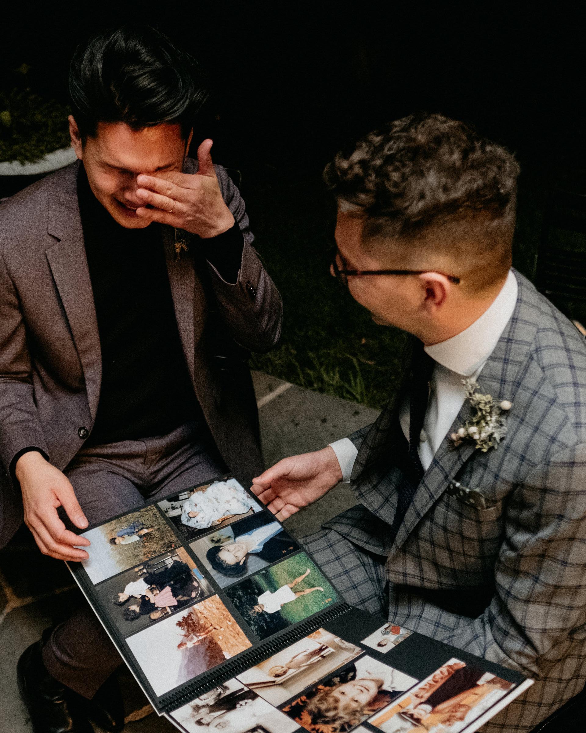 eric eryc wedding photo album