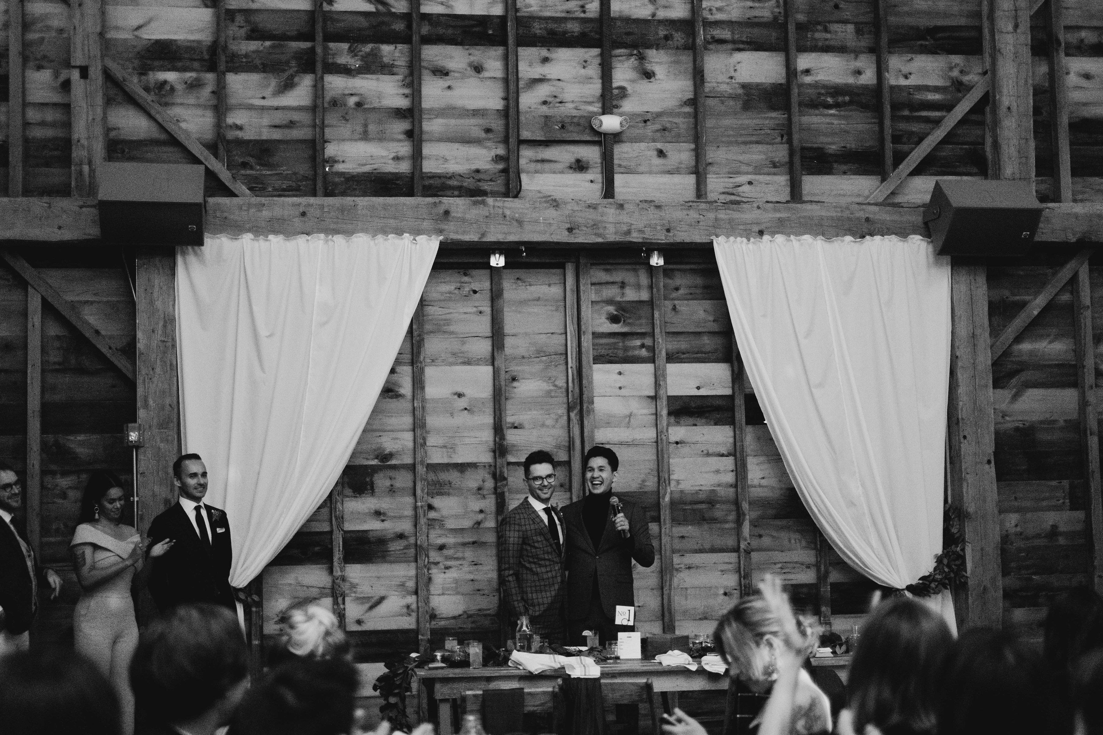 eric eryc wedding speech