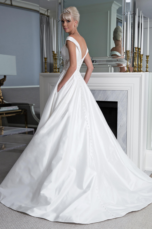 Legends Romona Keveža ball gown wedding dress fall 2019