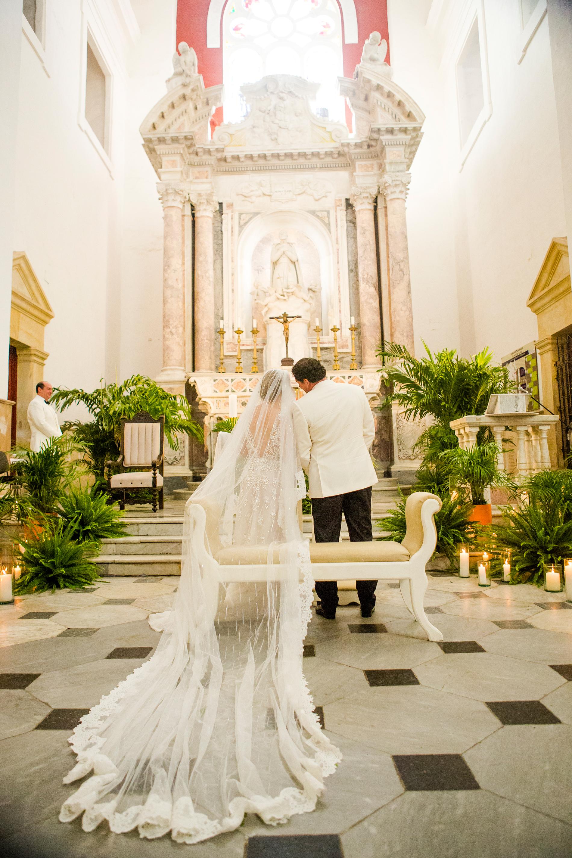 cristina andre wedding ceremony